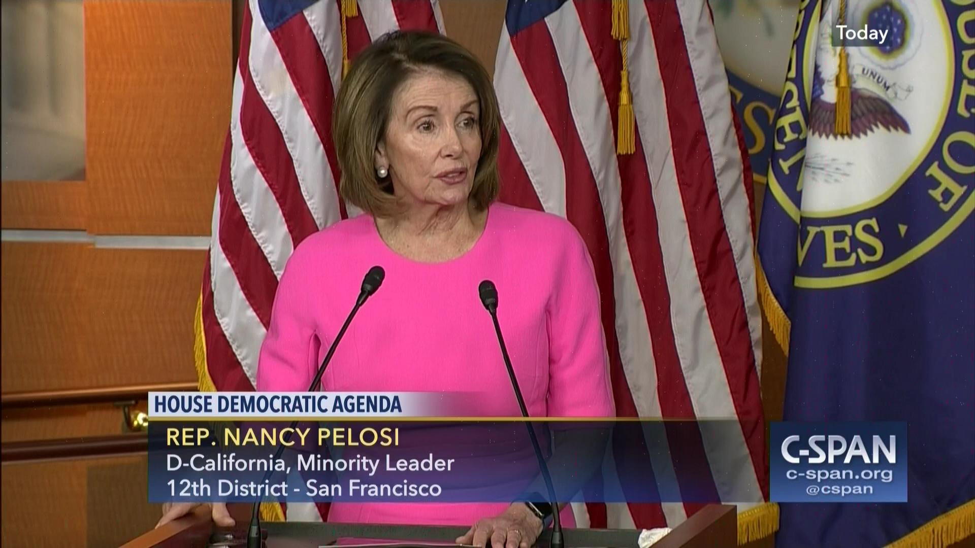 minority leader pelosi calls white house budget systemic | c-span