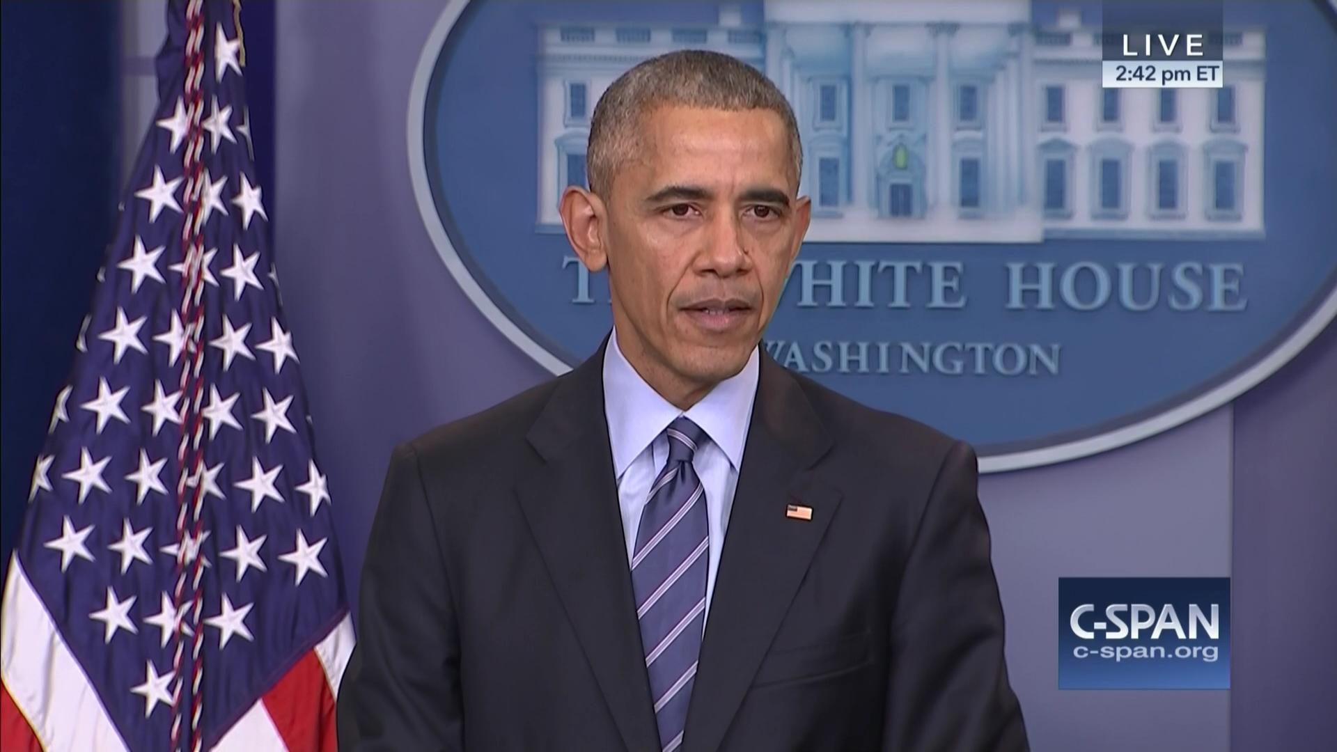 President Obama Holds End Year News Conference, Dec 16 2016 | Video ...