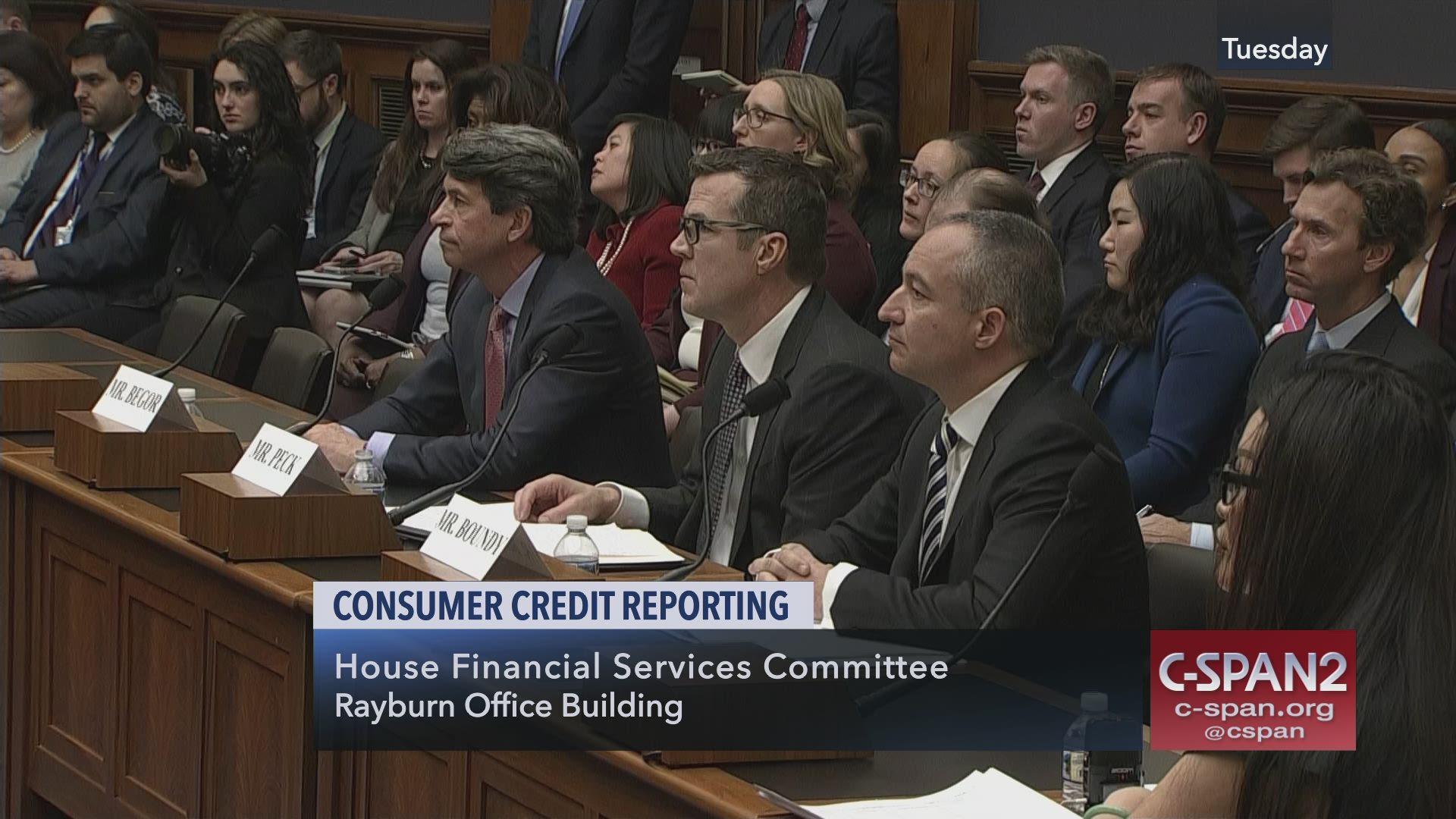 Consumer Credit Reporting, Part 1