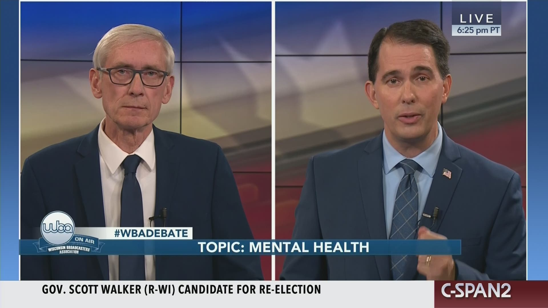 Seriously Folks This Madison Tv Viewer >> Wisconsin Gubernatorial Debate C Span Org