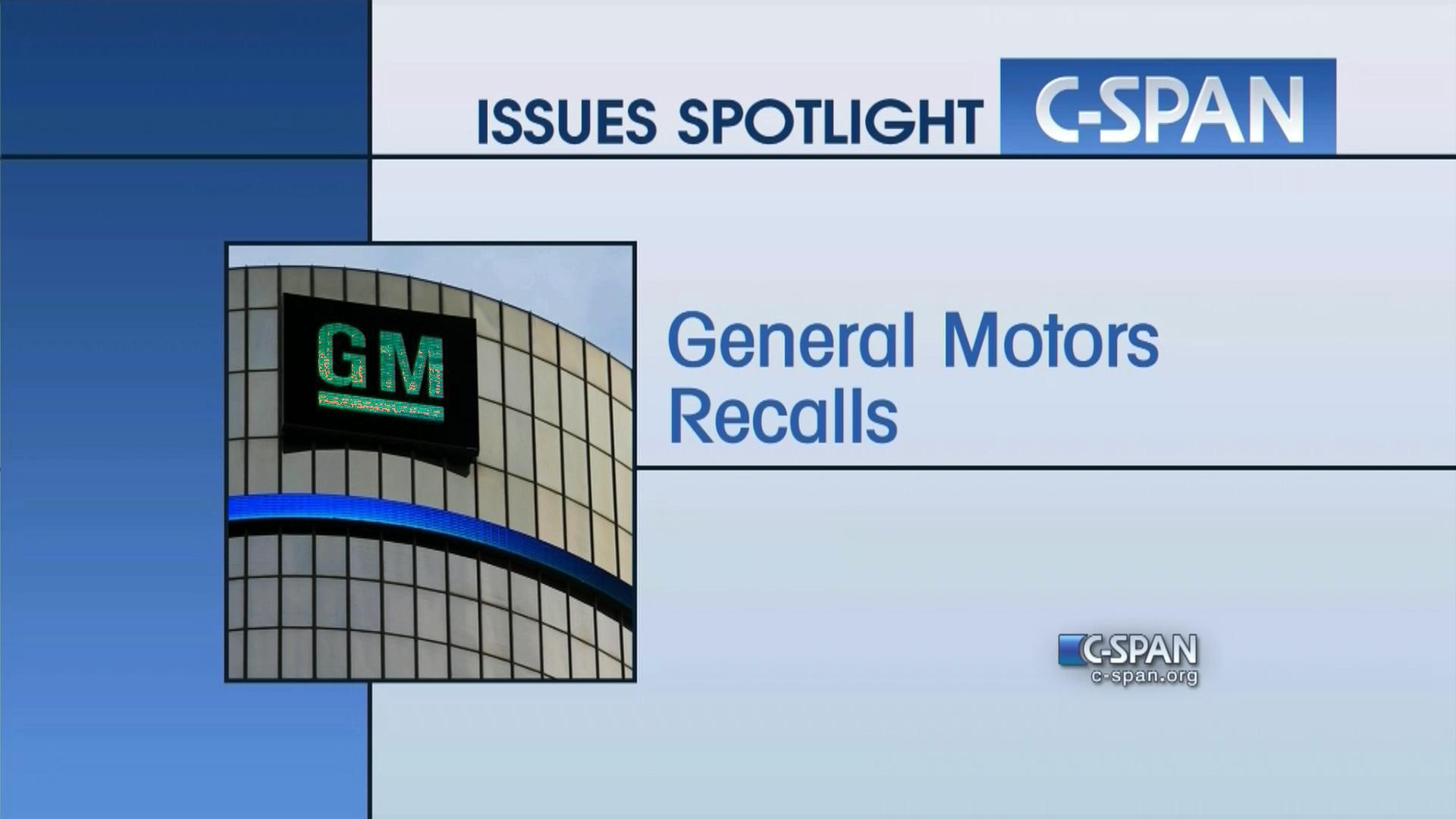 General Motors Recall Spotlight