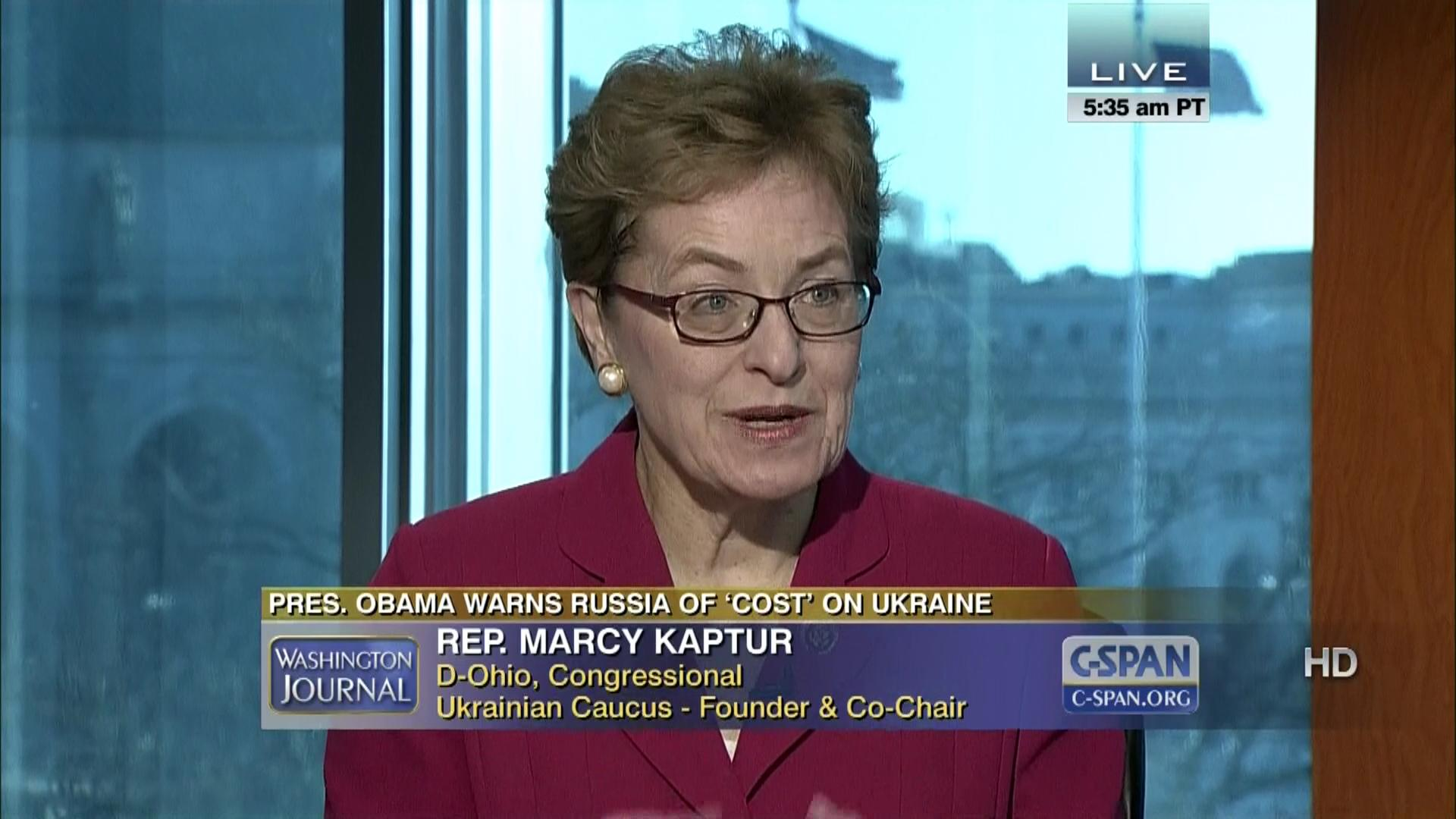 Washington Journal Latest Developments Ukraine, Mar 13 2014 | Video |  C-SPAN.org