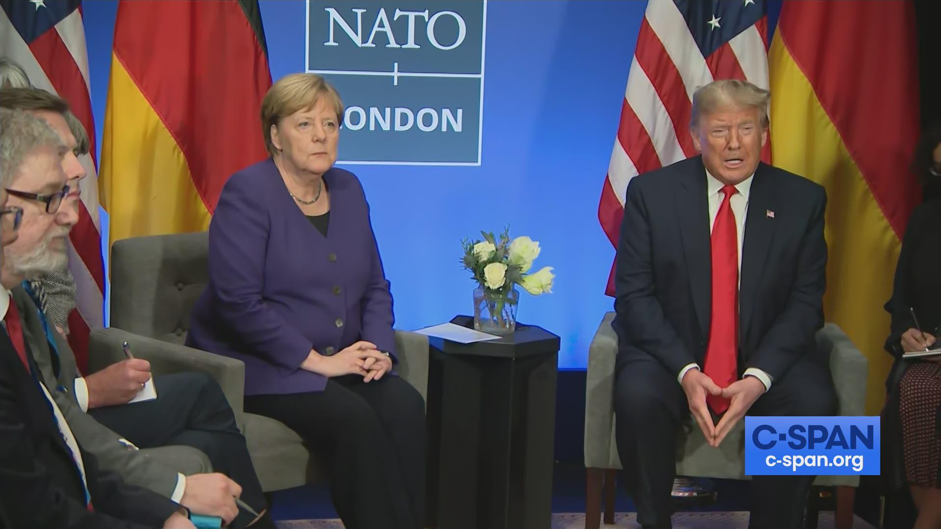 President Trump Meeting With German Chancellor Angela Merkel C Span Org