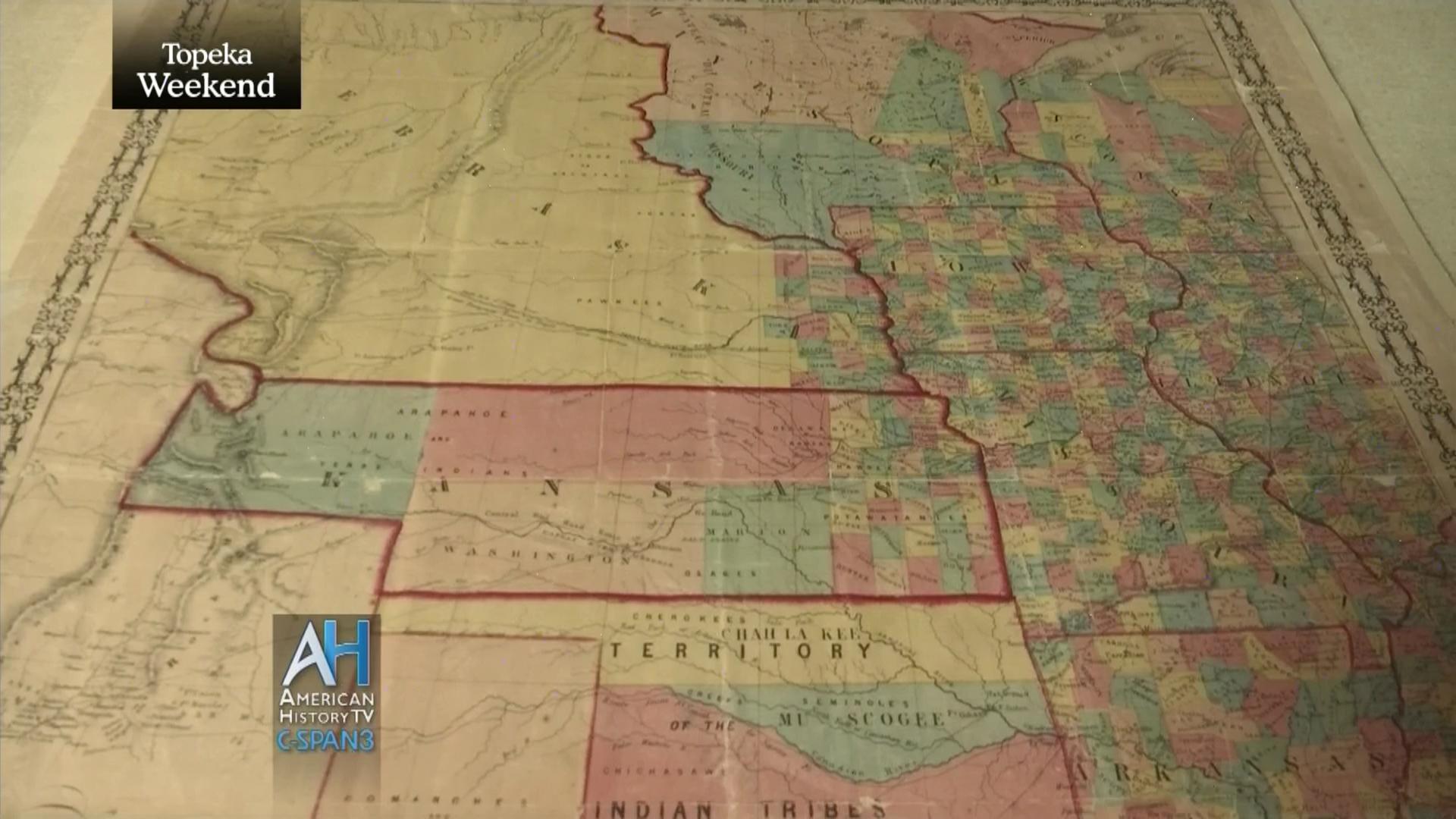 Kansas-Nebraska Act Bleeding Kansas | User Clip | C-SPAN.org
