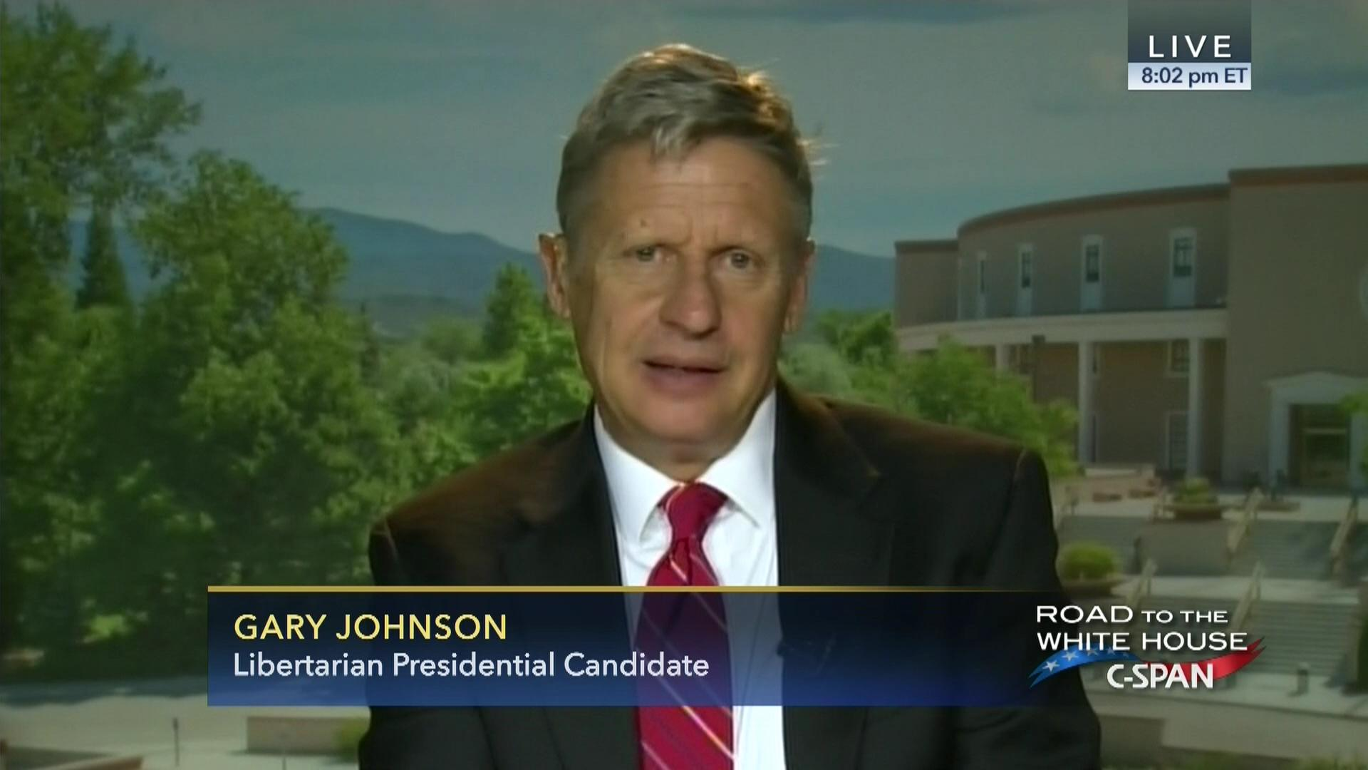 2008 01 31 the libertarian party s response to the state of the union address feed - Gary E Johnson