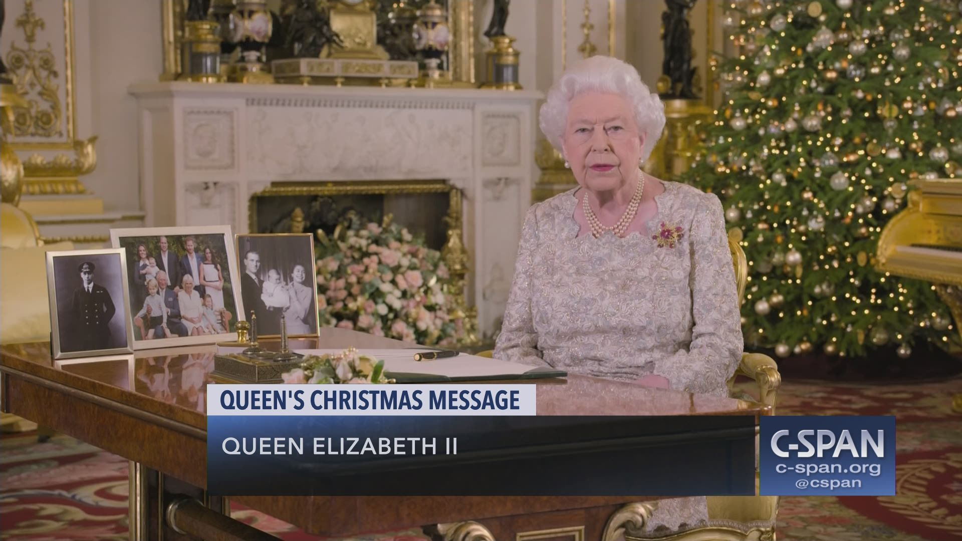 Queen Elizabeth Ii - Christmas Message 2020 Queen Elizabeth II Christmas Message | C SPAN.org