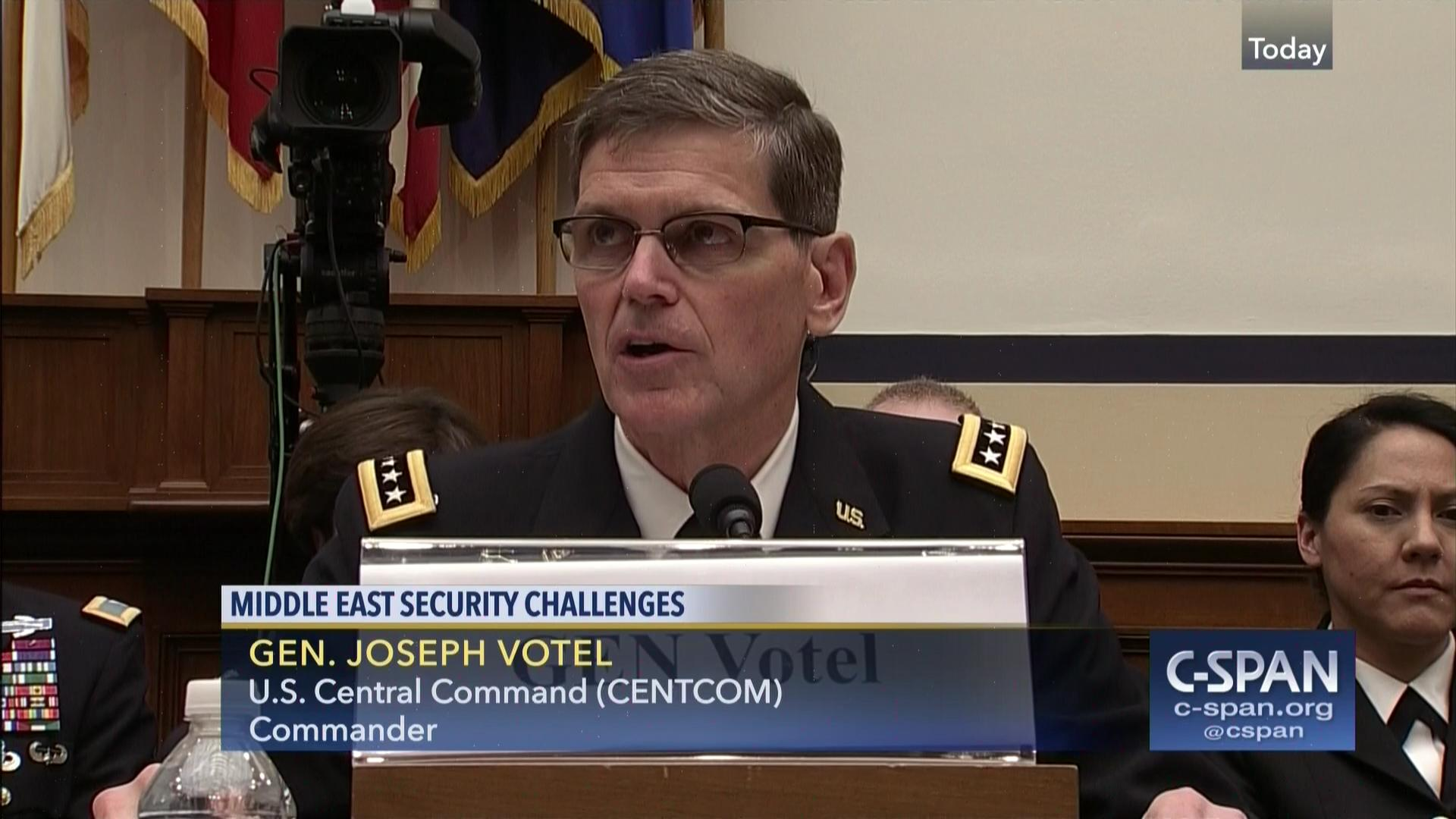 general votel questioned mosul air strike says investigation