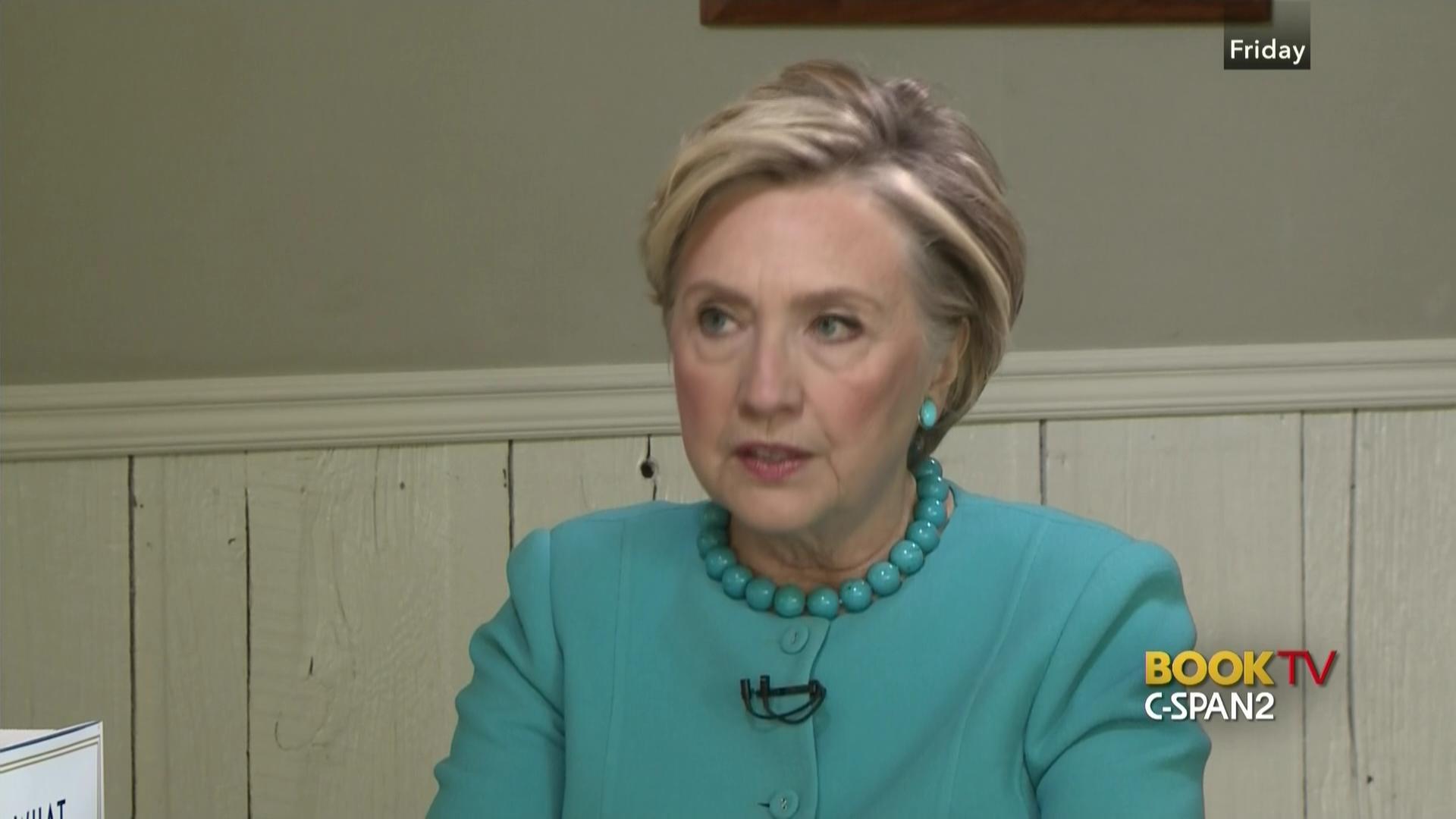 hillary clinton discusses campaign 2016 memoir calls uranium story