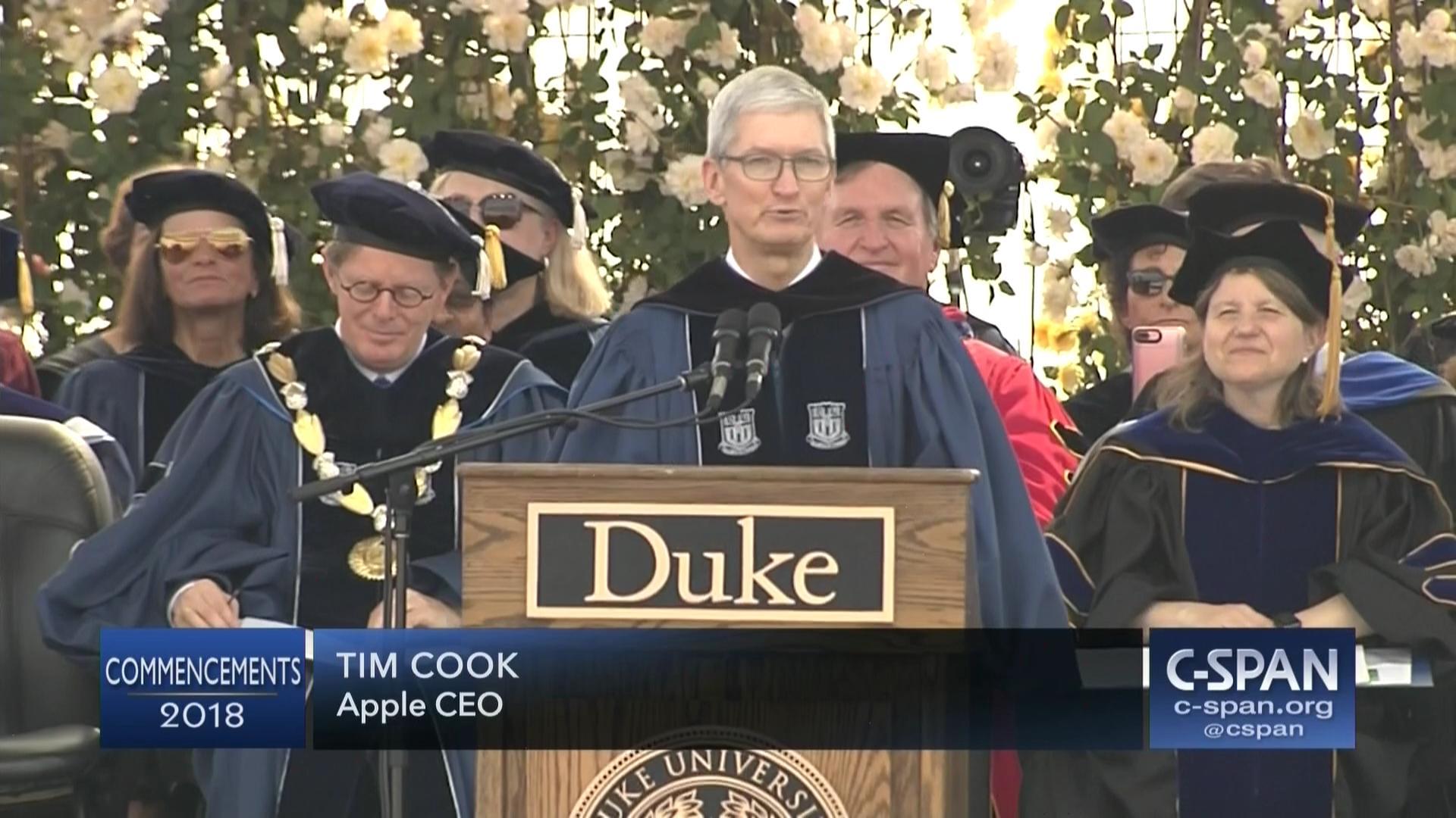 Duke University Commencement Address