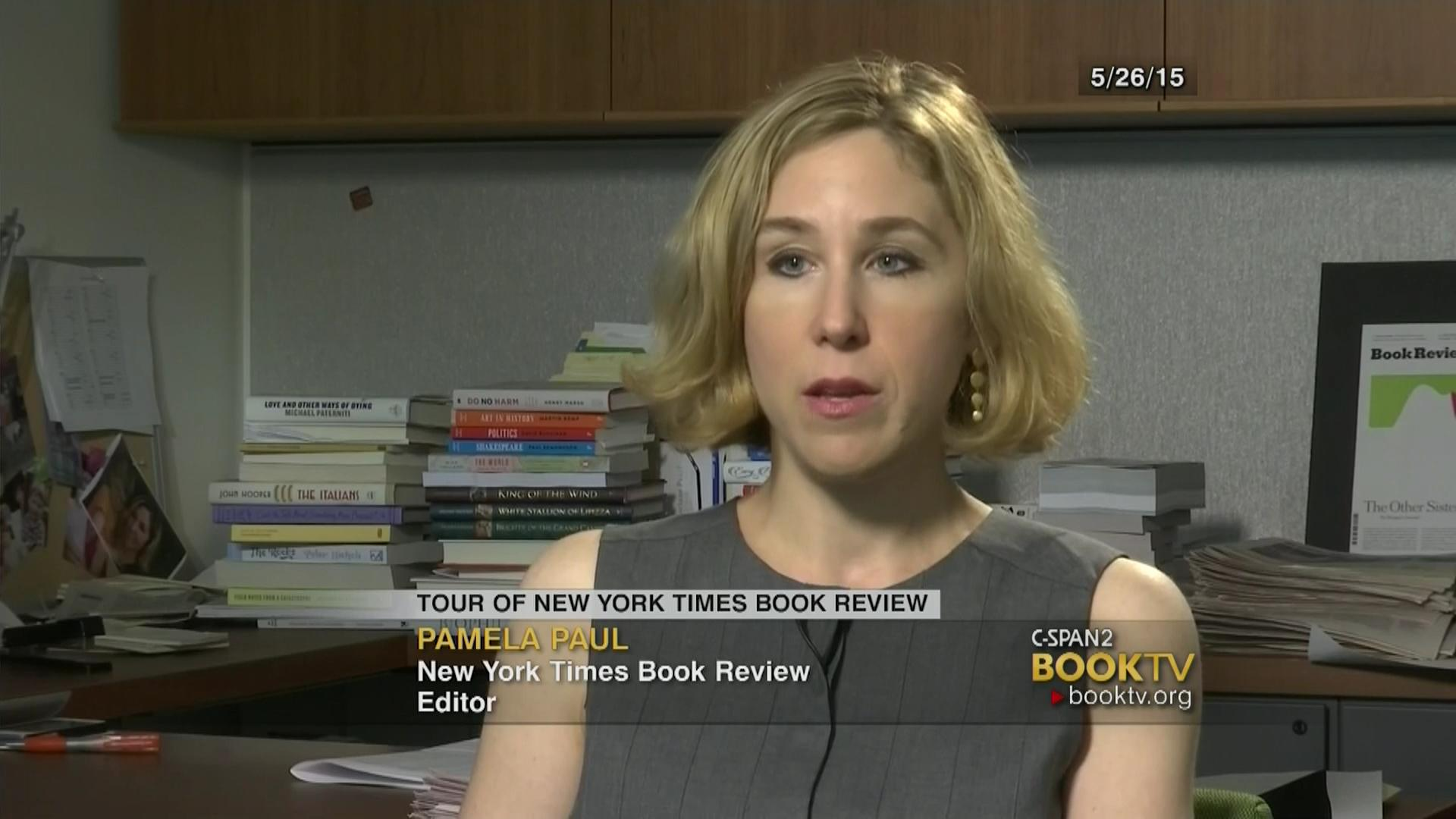 Tour Of The New York Times Book Review C Span Org