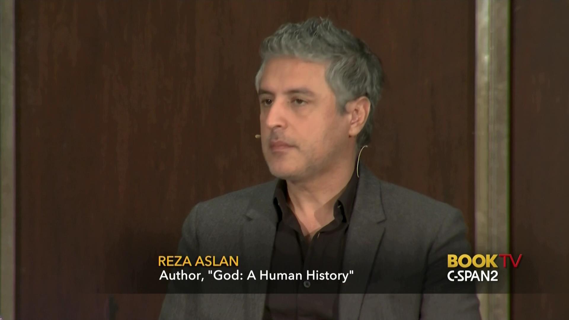 Reza Aslan Discusses God Human History Nov 20 2017 Video