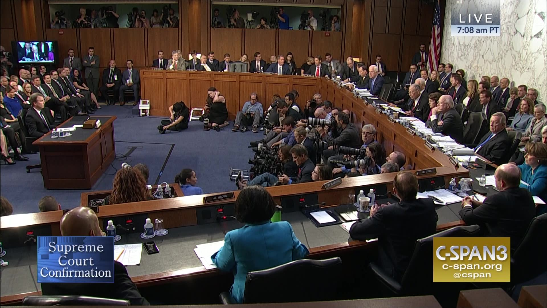 Supreme Court Nominee Brett Kavanaugh Confirmation Hearing, Day 1 ...
