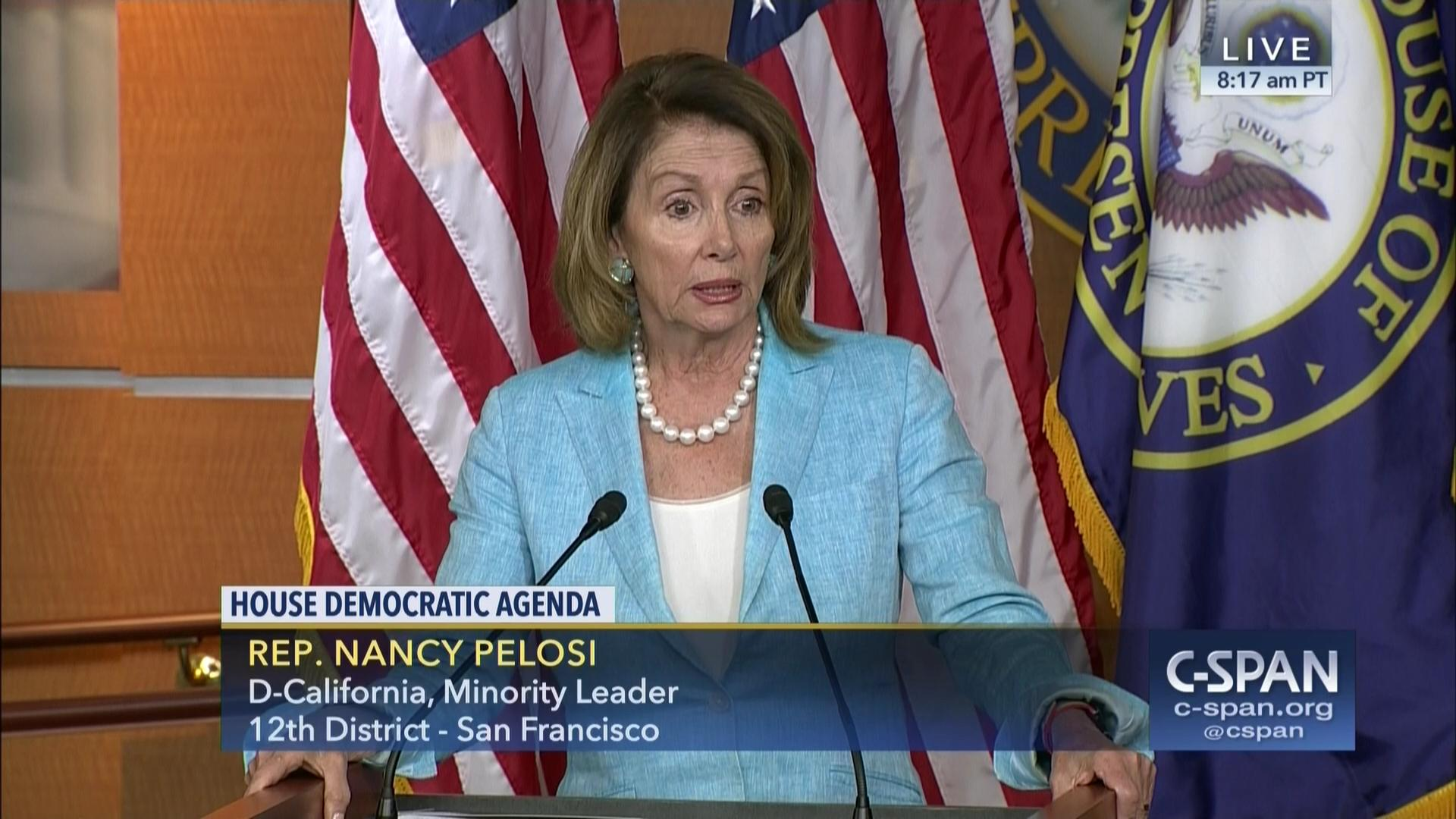 minority leader pelosi presses independent commission russia | c
