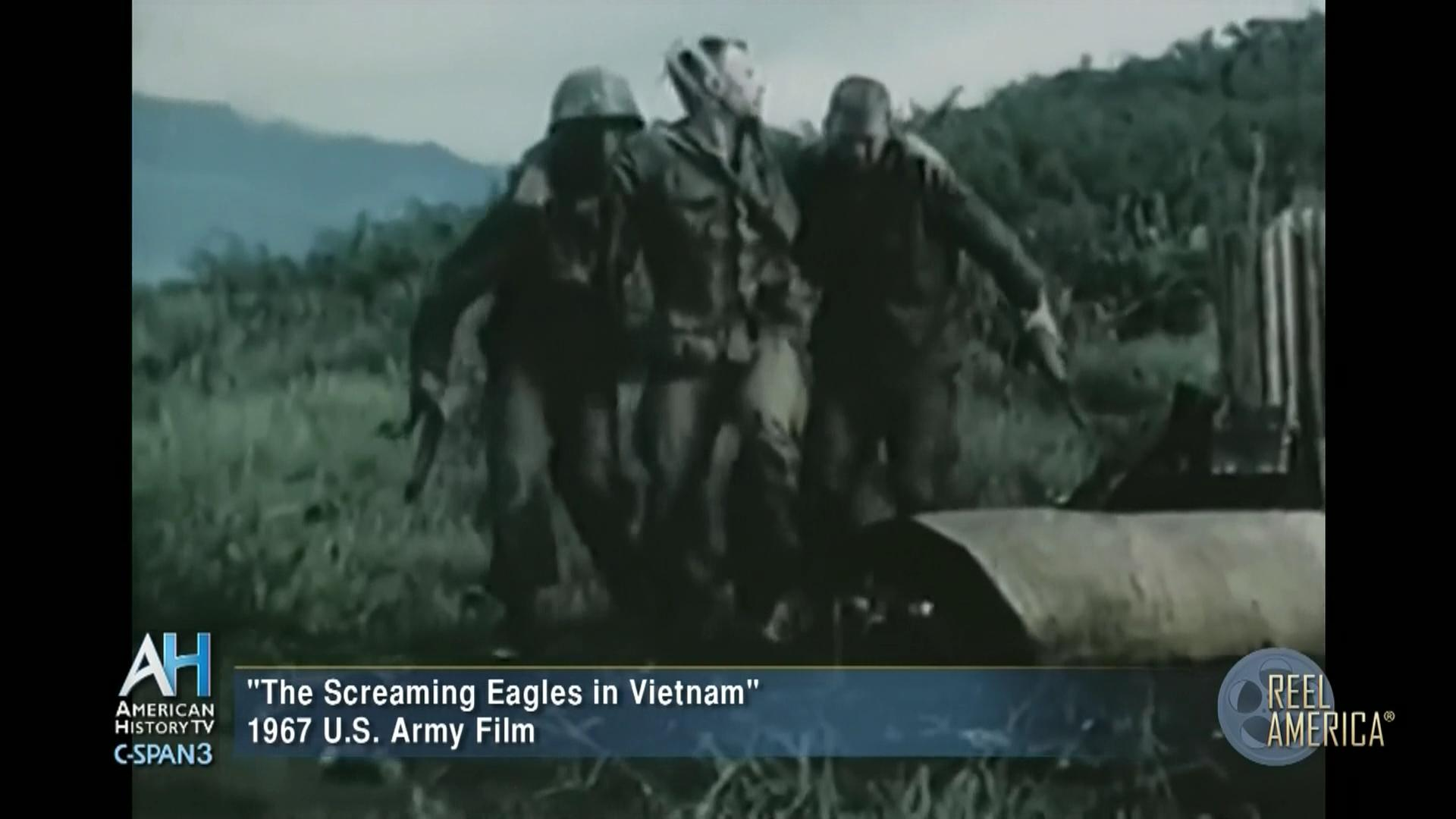 1967 Film The Screaming Eagles in Vietnam