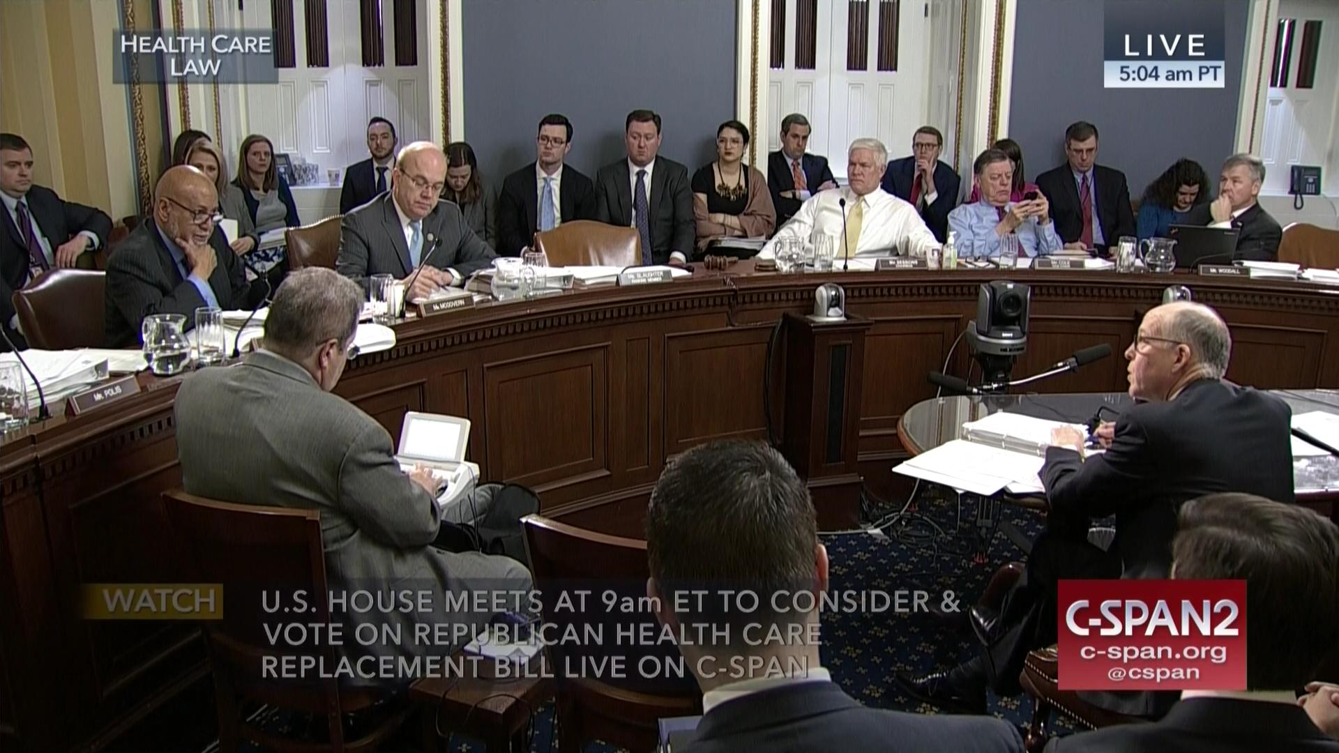 GOP Health Care Bill Clears Rules Committee, Mar 24 2017 | Video | C ...