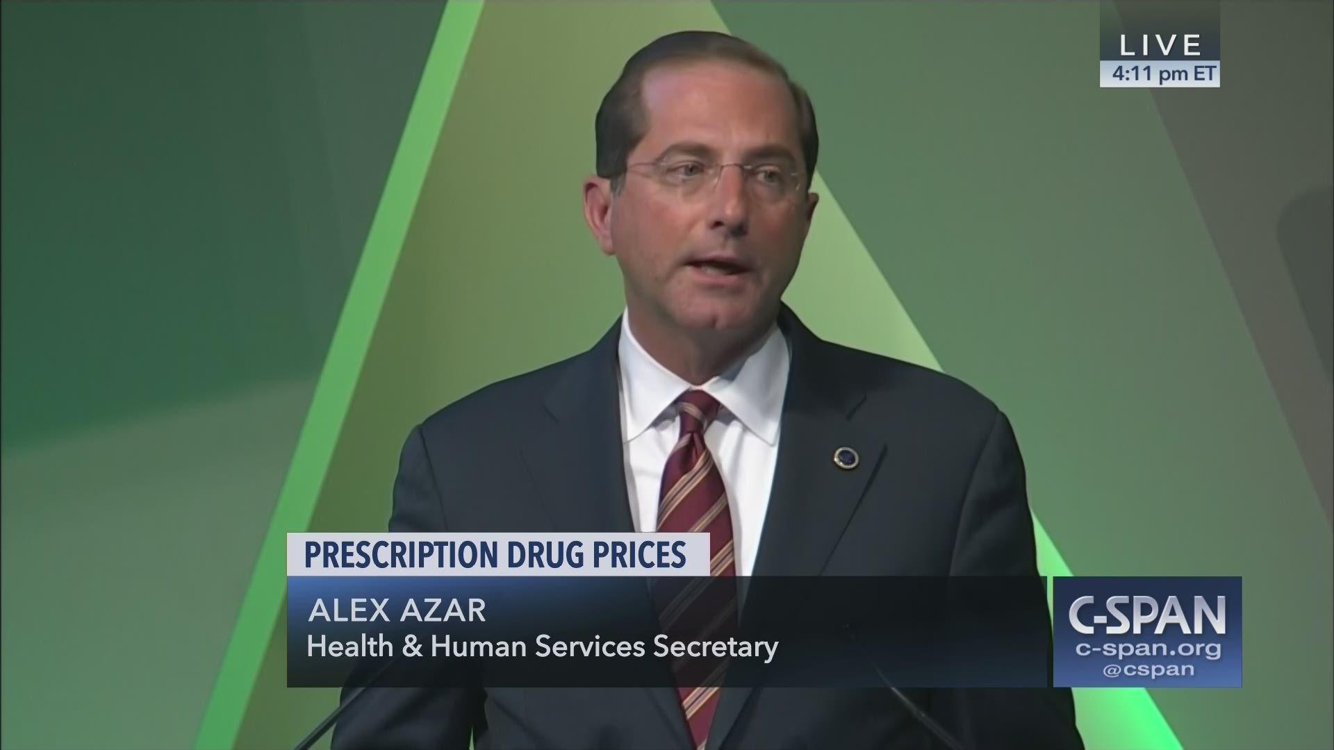 Prescription Drug Prices C Span Org