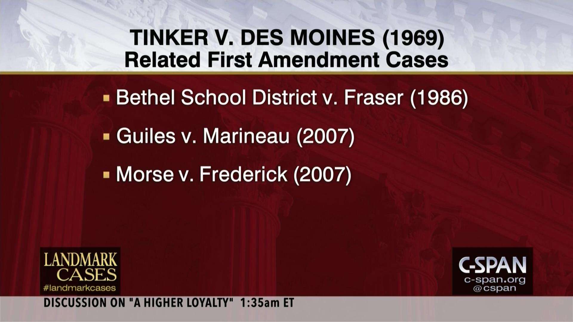 Tinker v des moines impact
