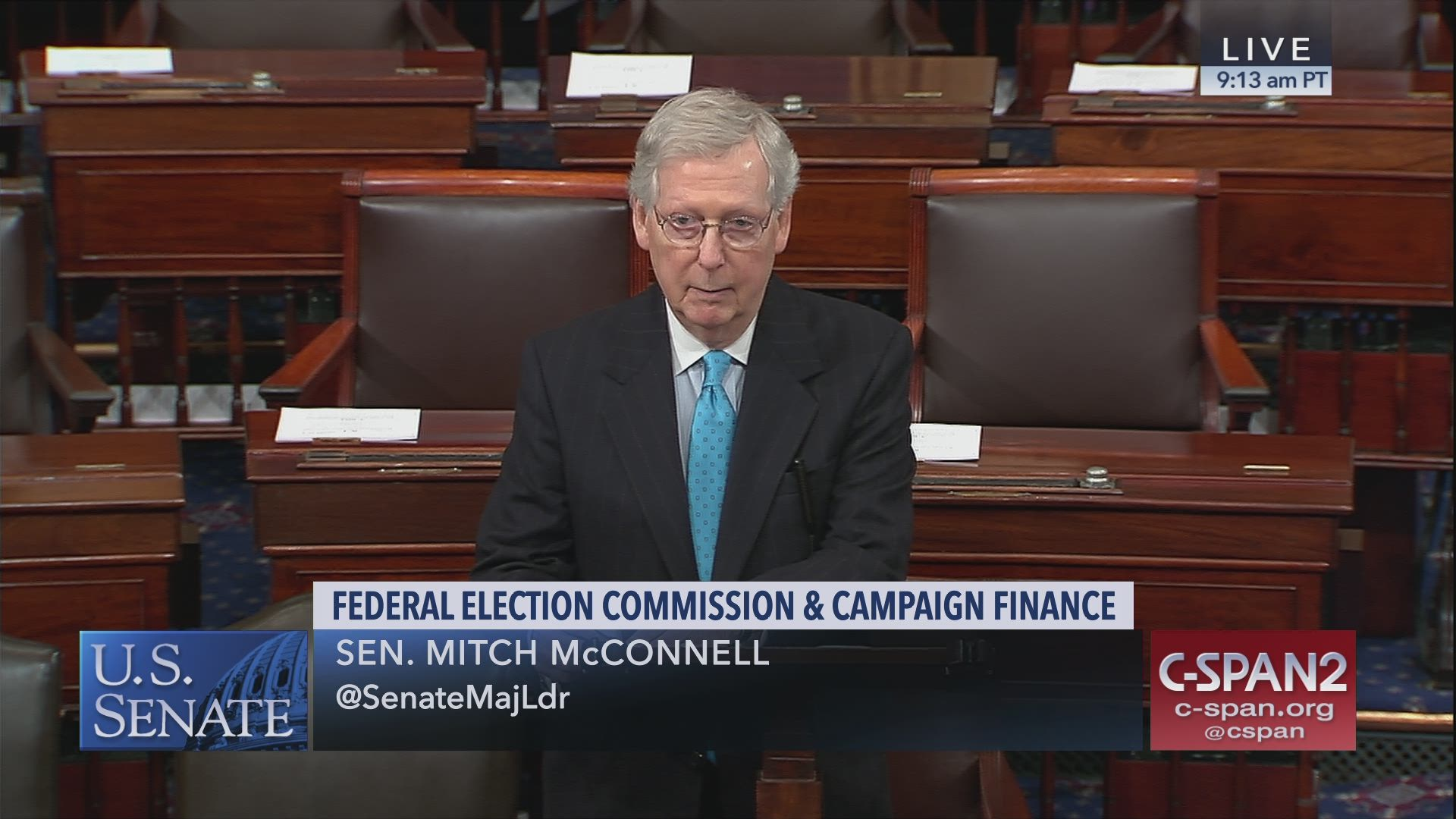 Senator Looks To Ease Burden For >> Sen Mitch Mcconnell Speaks About Hr1 C Span Org