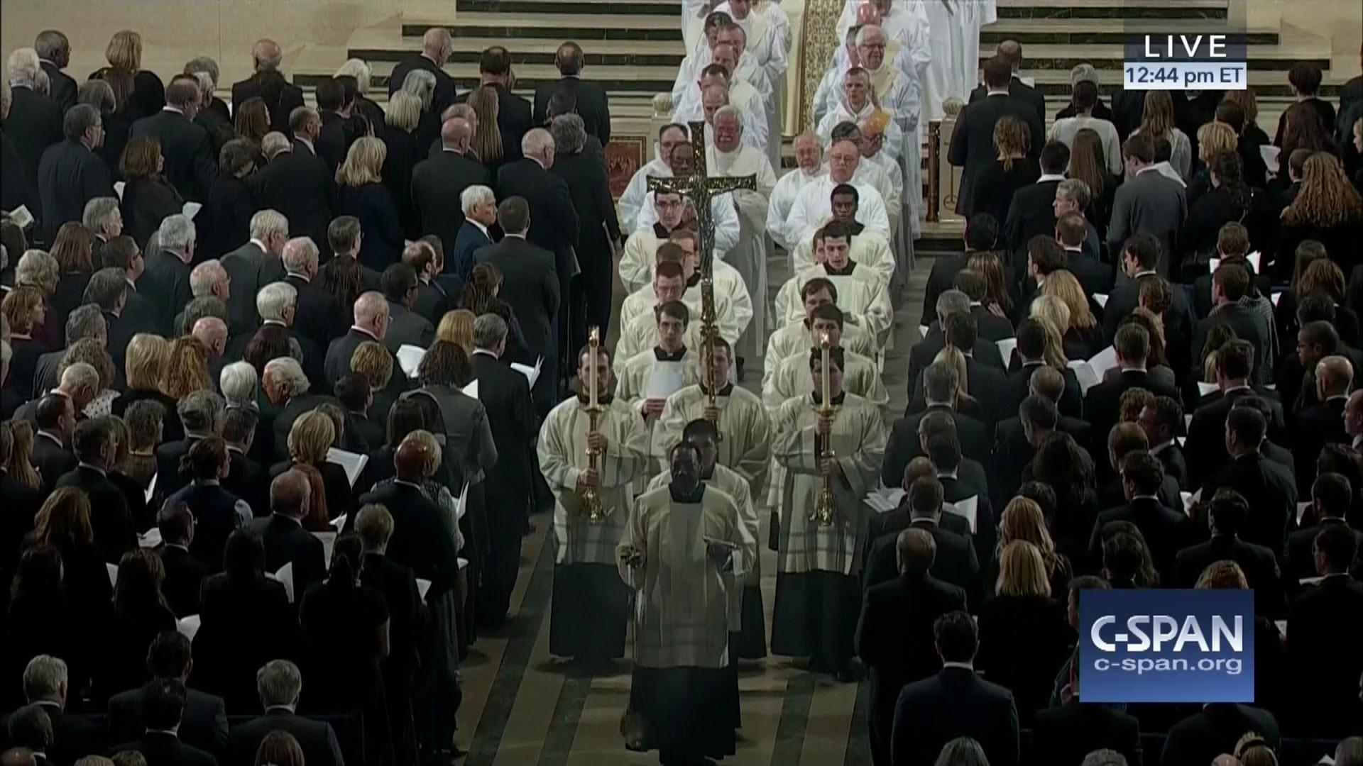 Scalia Funeral Closing Hymn