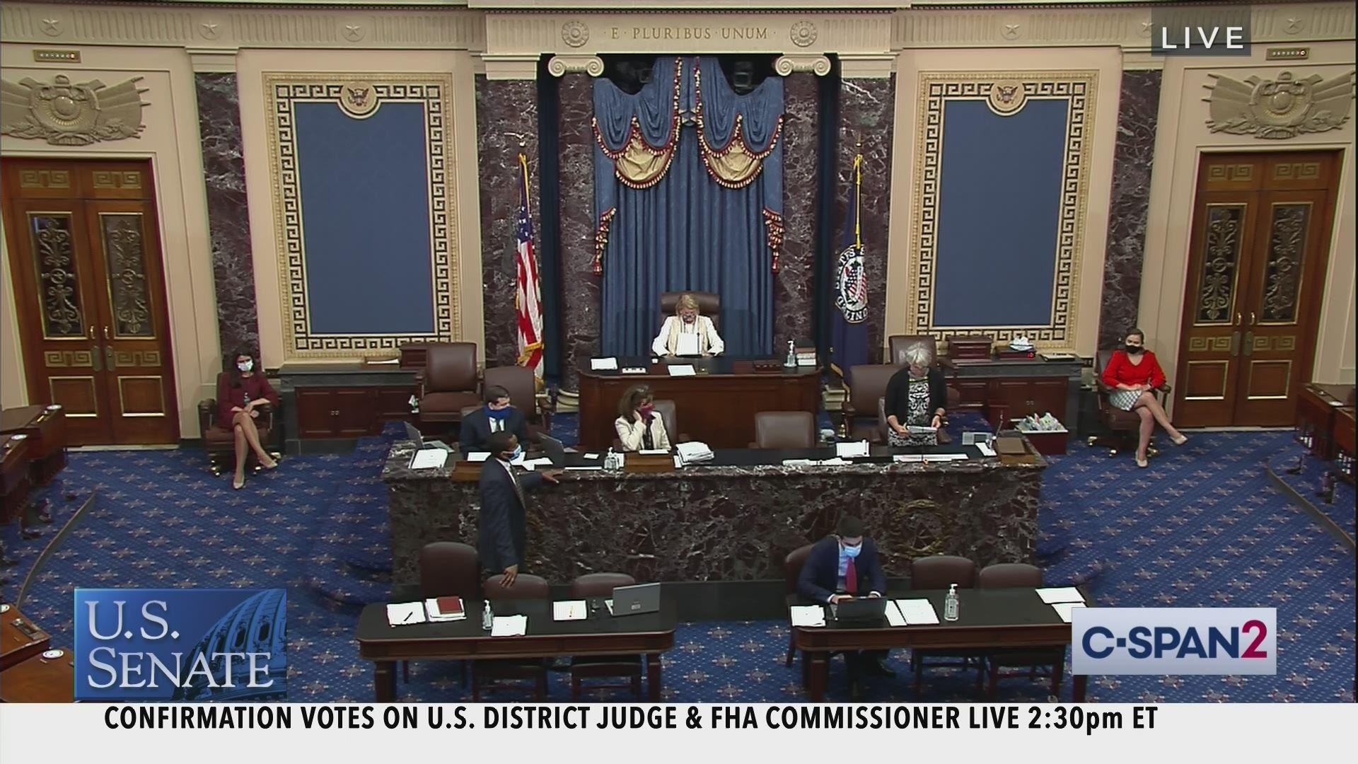 Senate Session Part 2 C Span Org