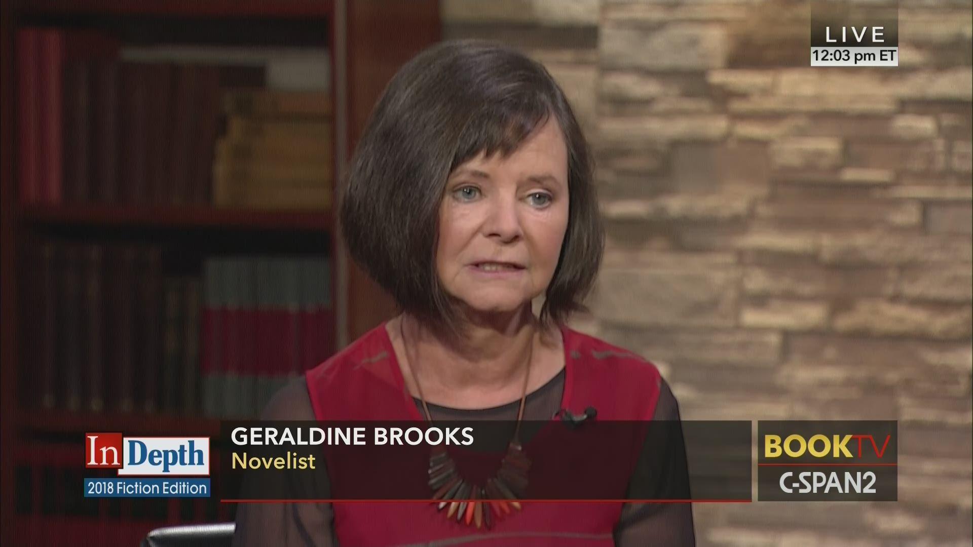 4133ea06b1 In Depth with Geraldine Brooks