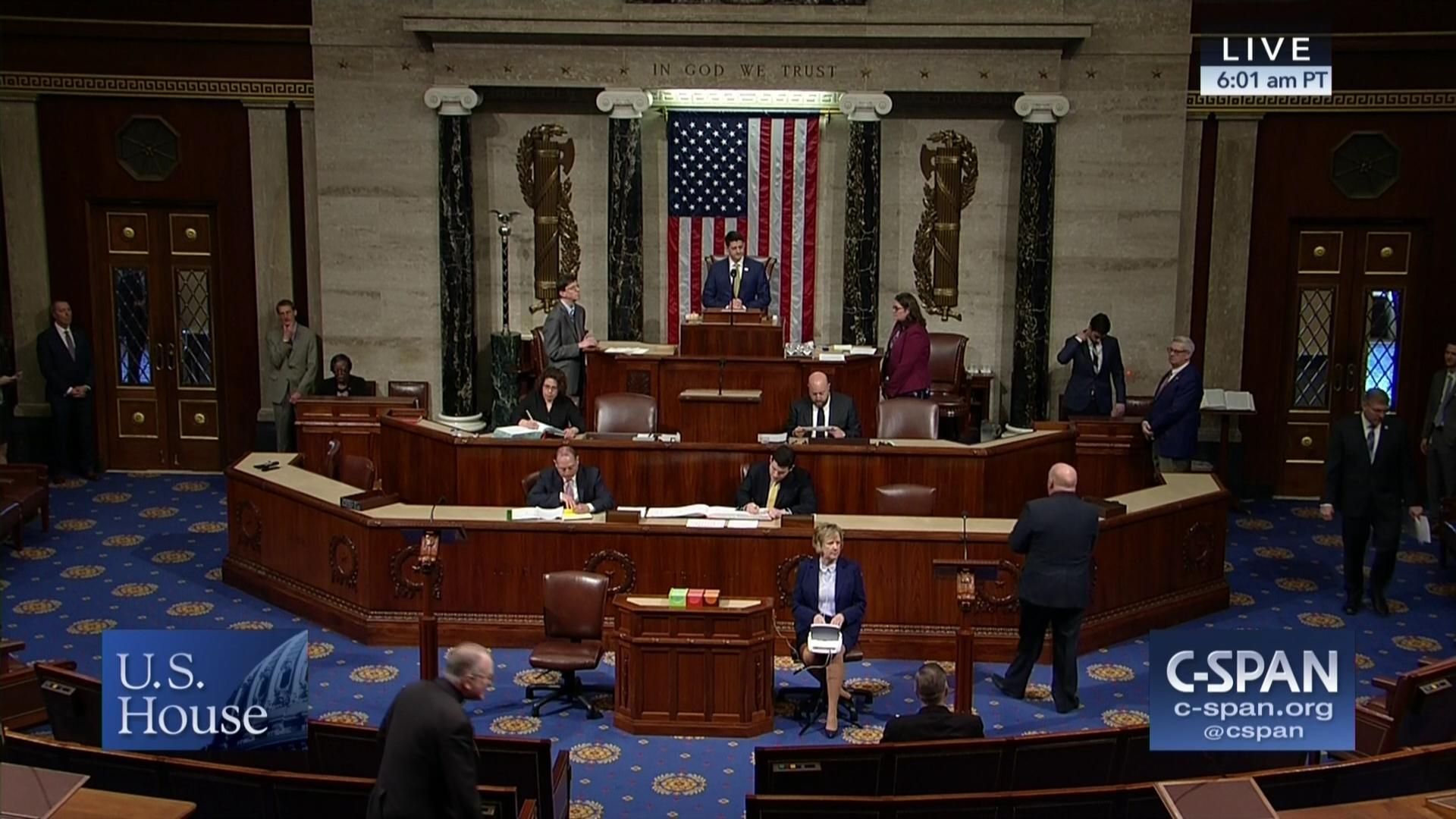 House Debates Federal Reserve Bill, Apr 13 2018 | Video | C-SPAN.org