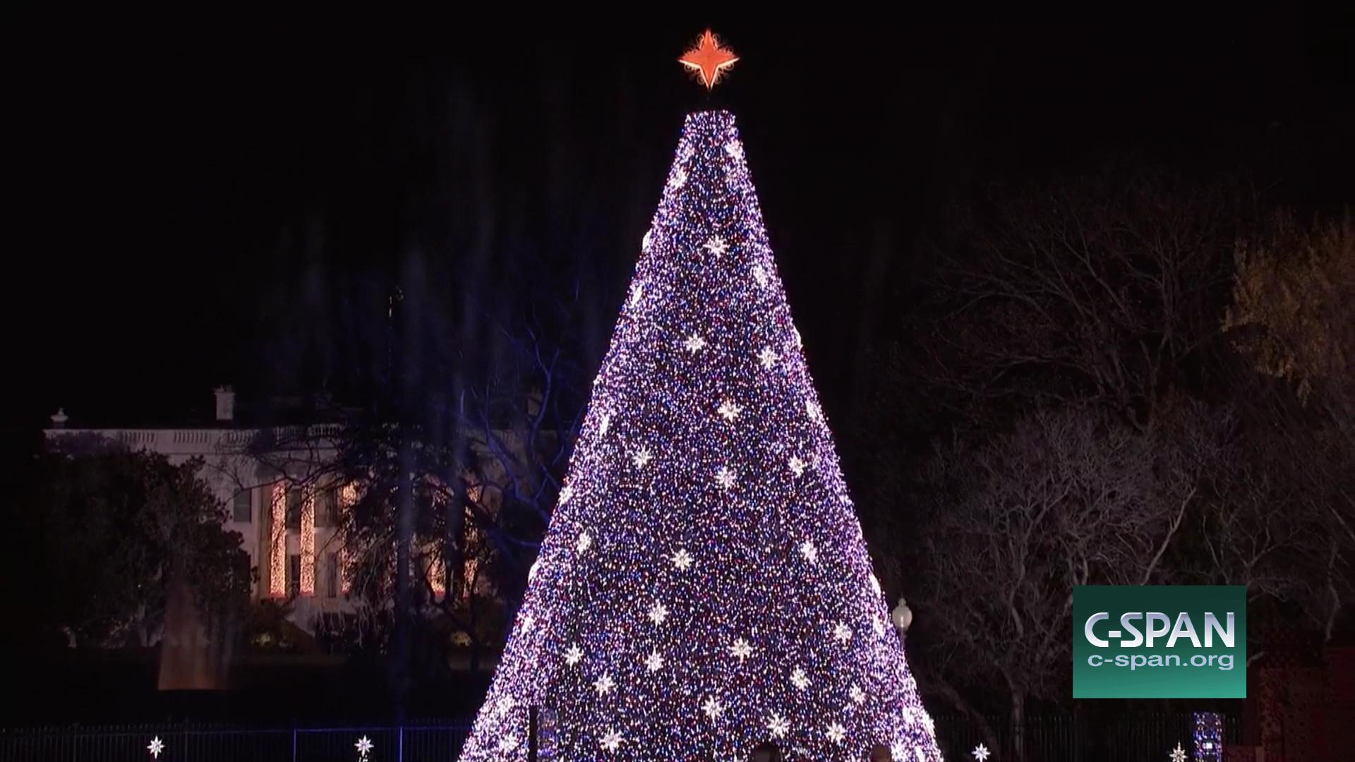 National Christmas Tree Lighting Ceremony, Full Event