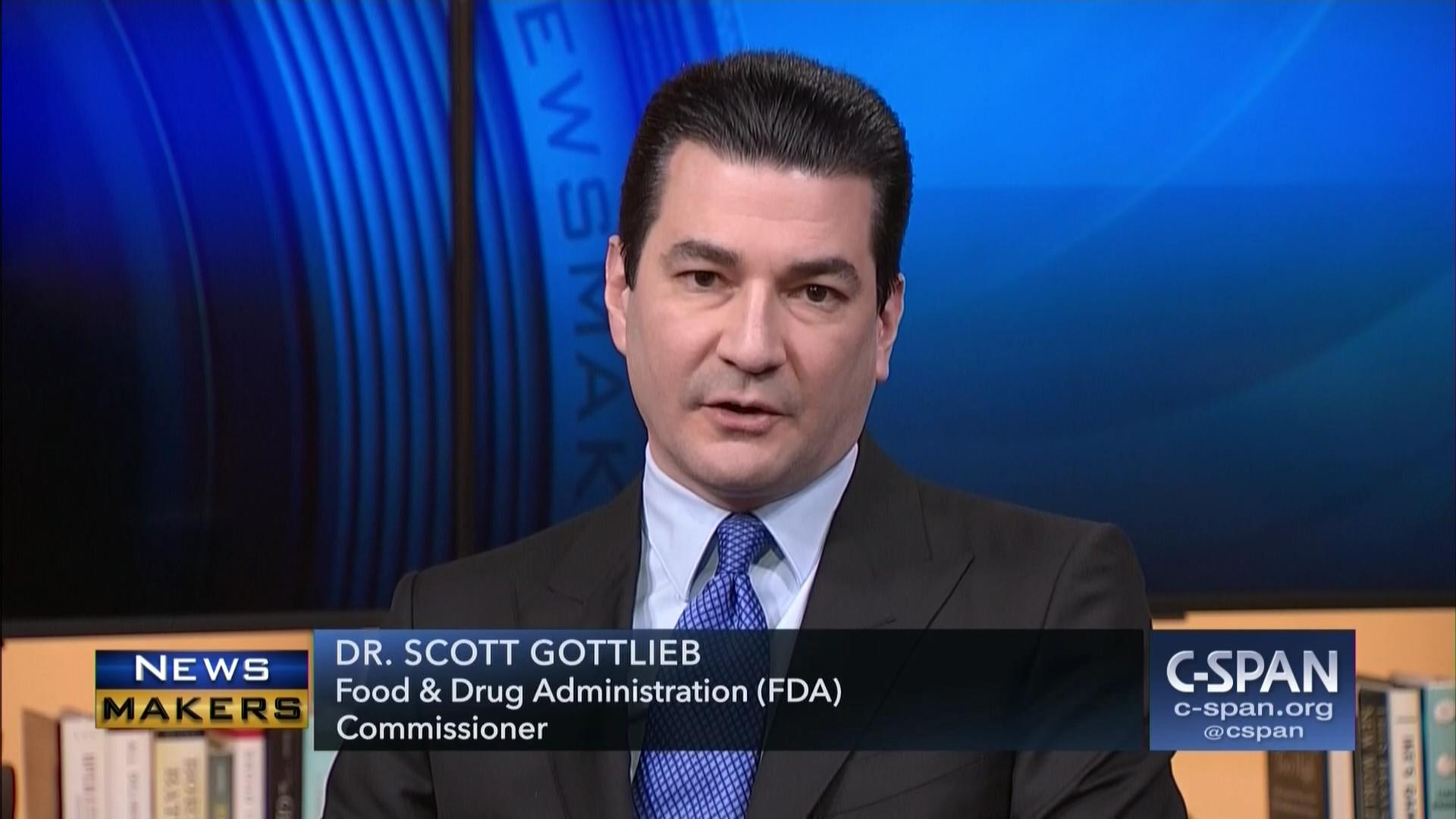 newsmakers scott gottlieb apr 6 2018 video c spanorg