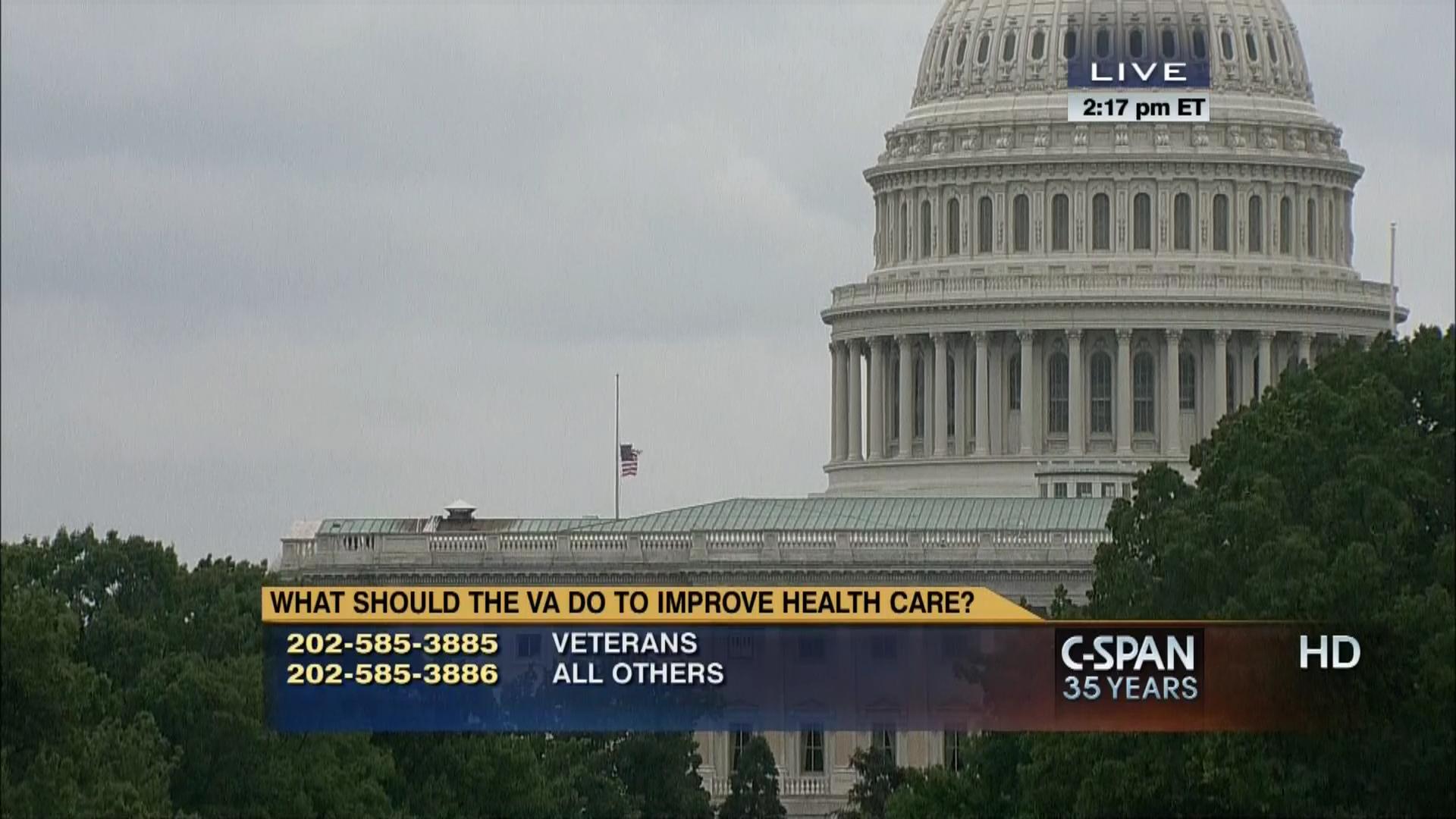 Open Phones on Veterans' Health Care