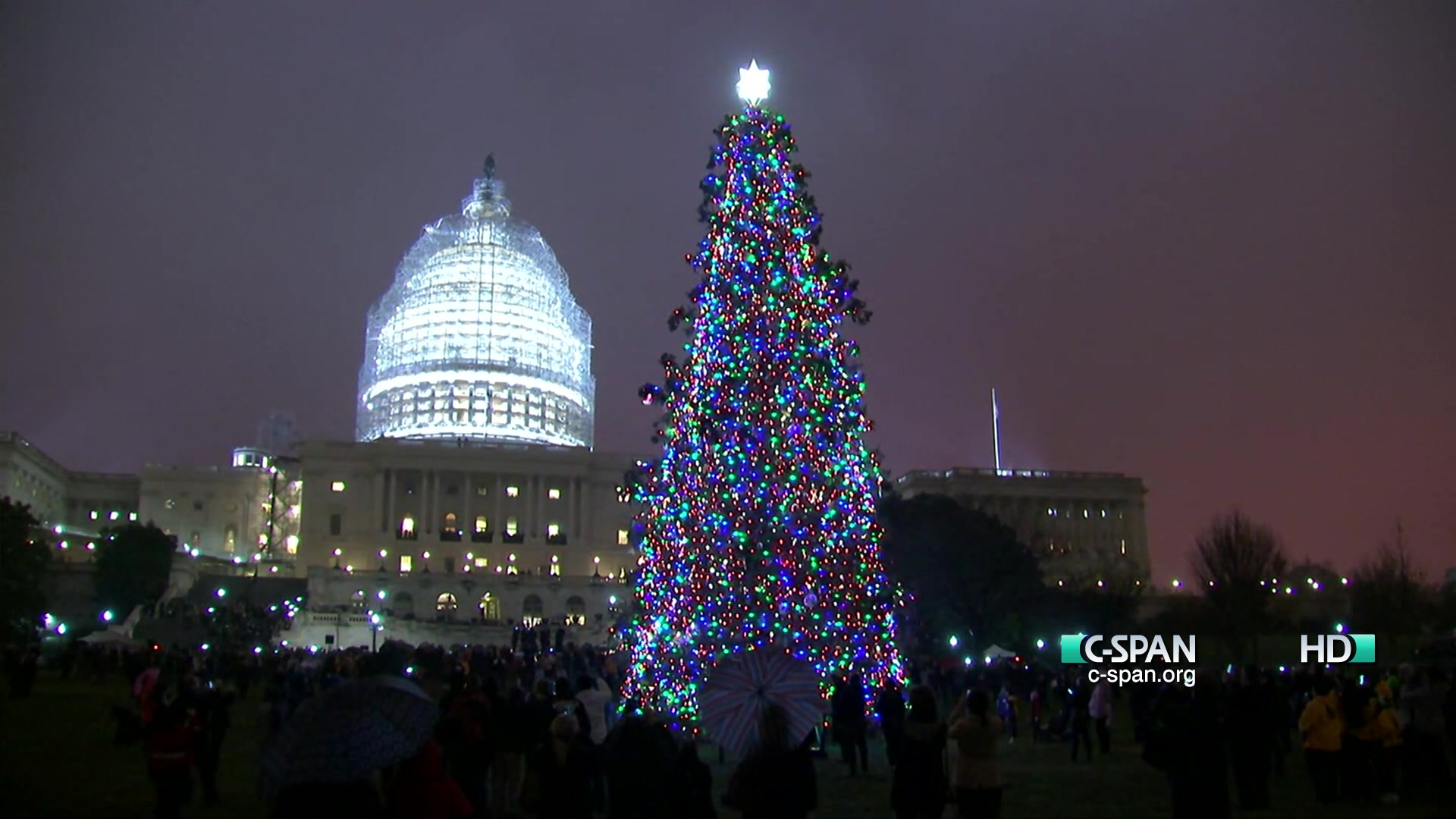 Capitol Christmas Tree.Capitol Christmas Tree Lighting Ceremony