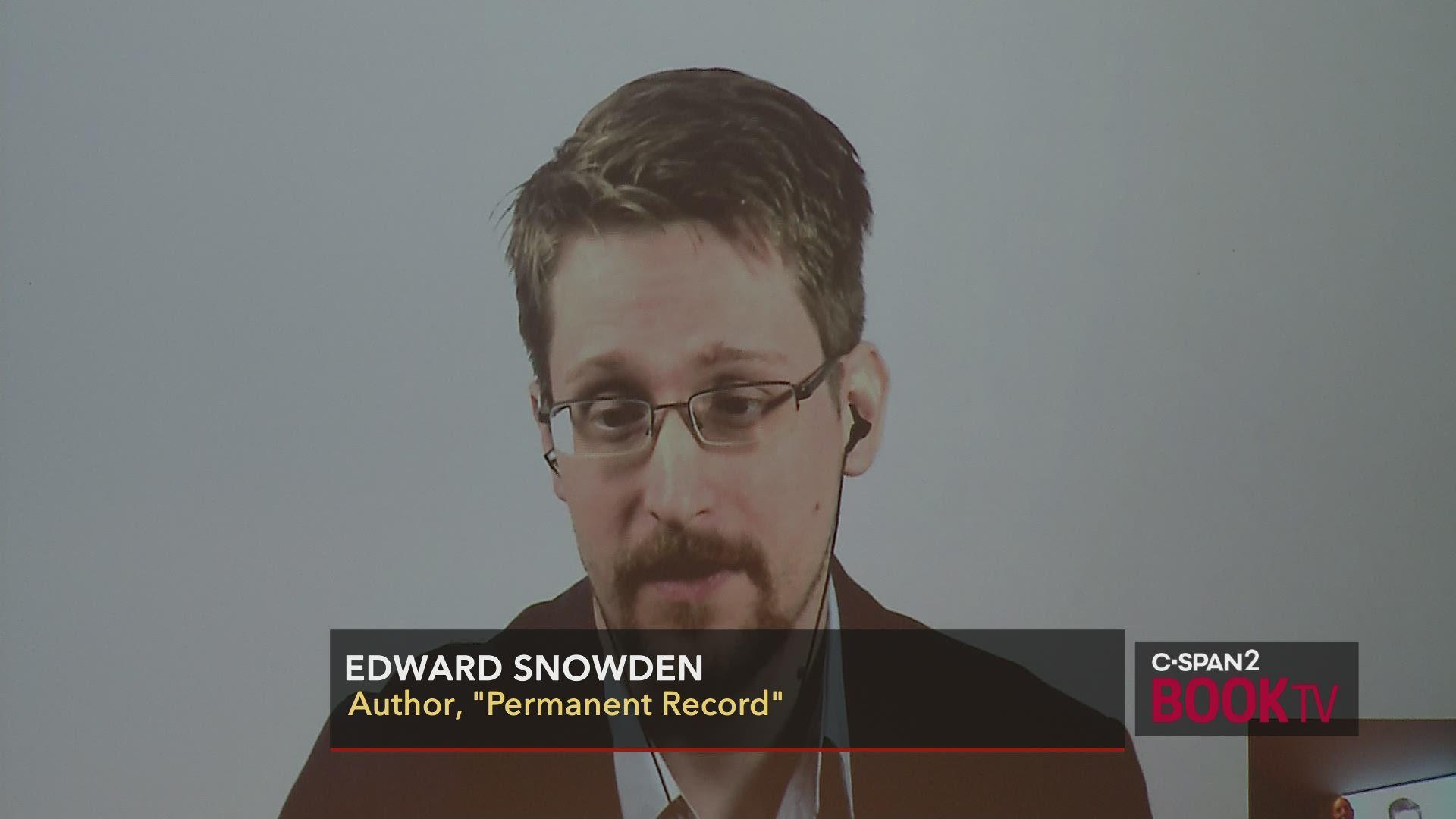 snowden permanent record