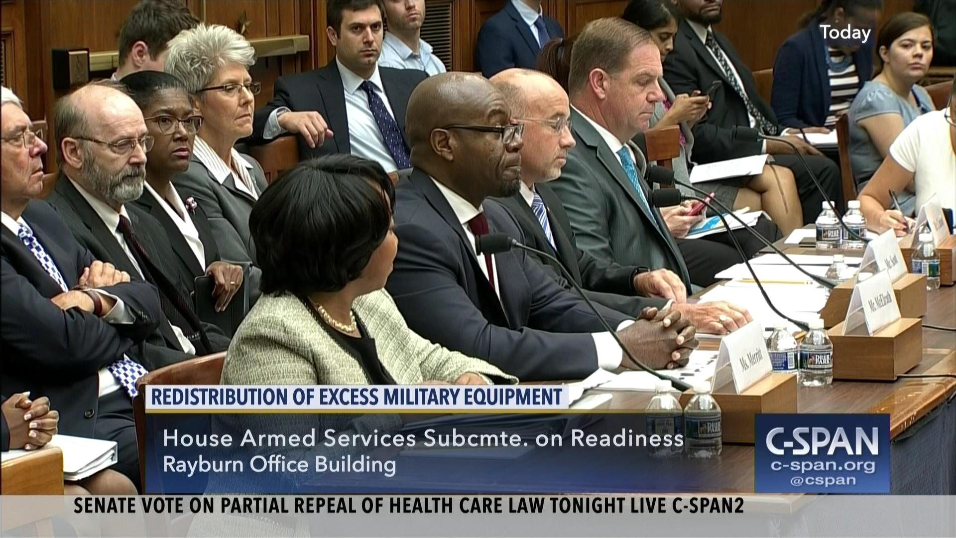 oversight hearing examines military-civilian transfer excess