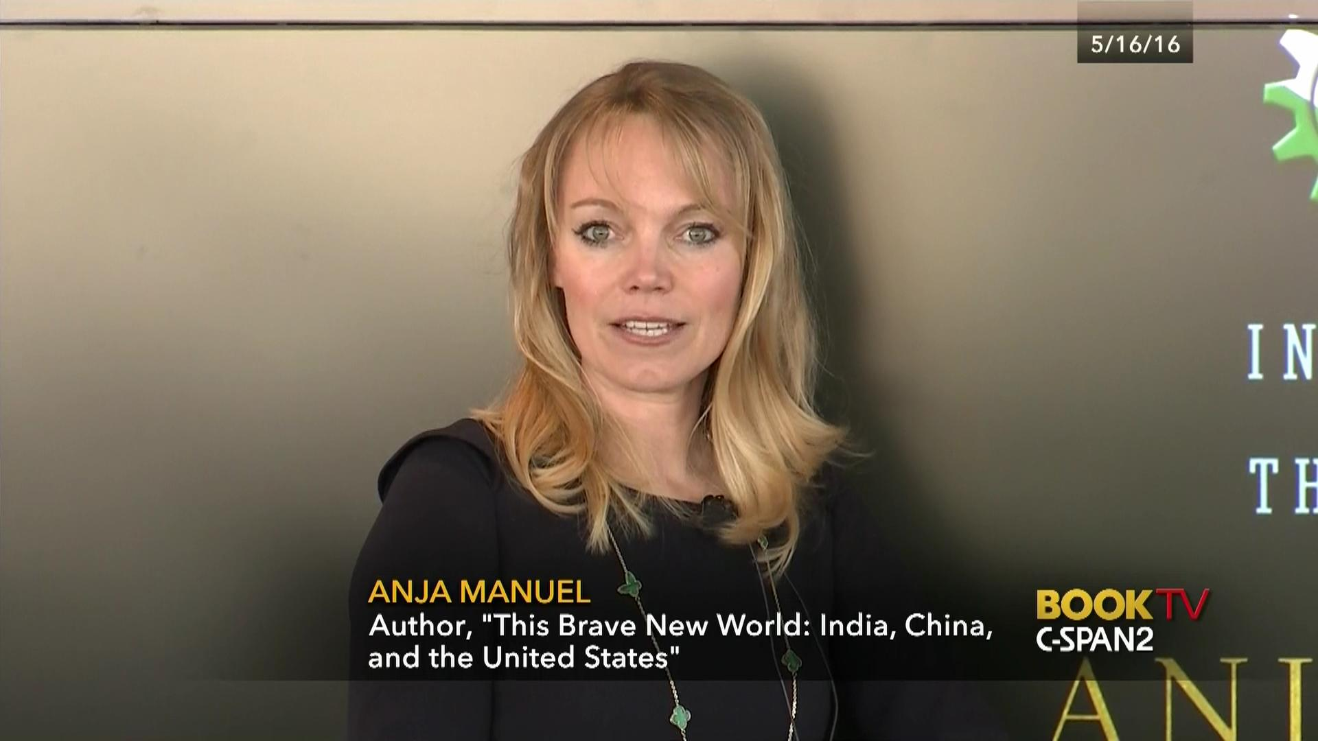 Anja Manuel Discusses Brave World May 16 2016 Video White Top
