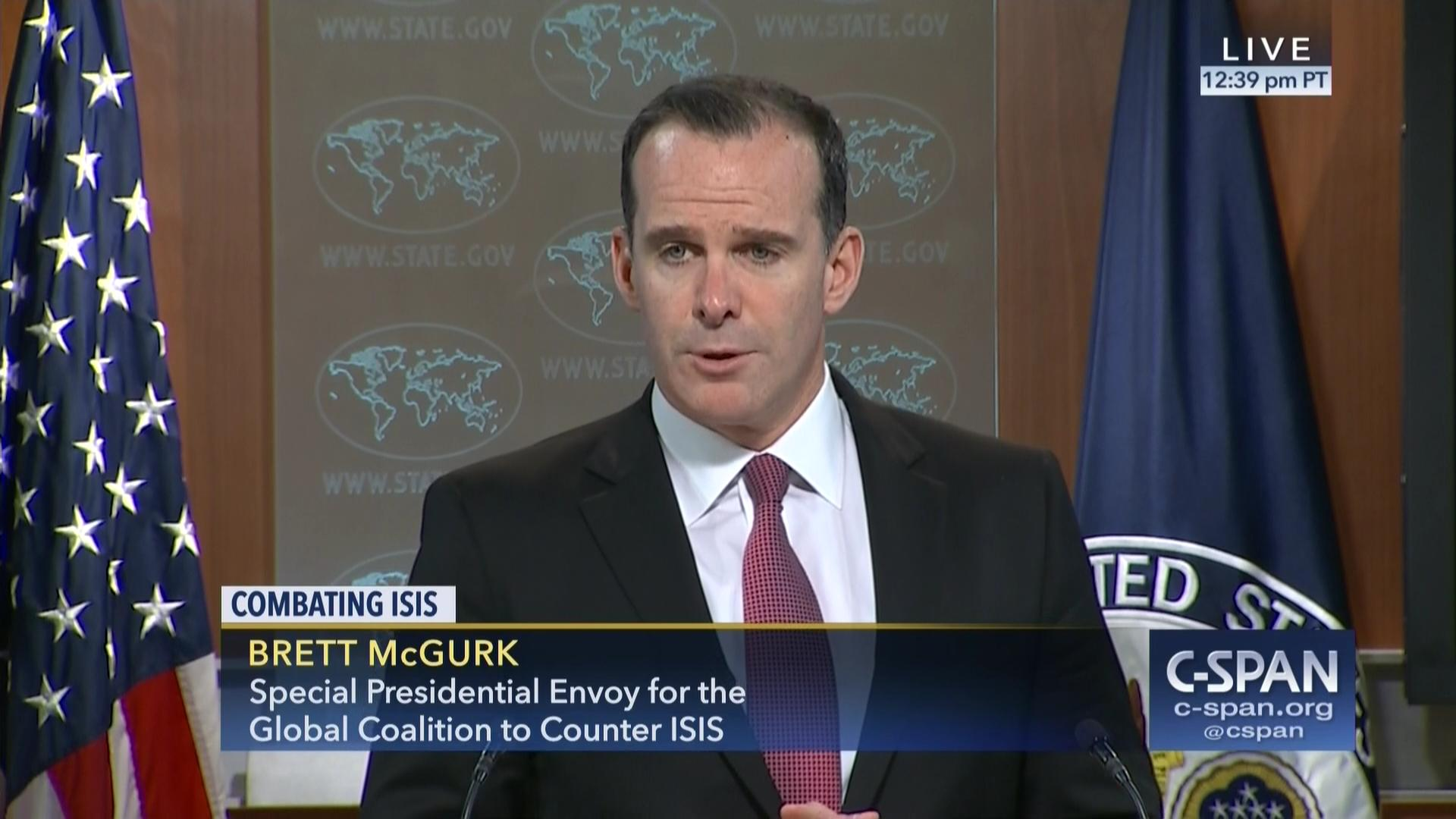 Image result for photos of Brett H. McGurk, the United States envoy