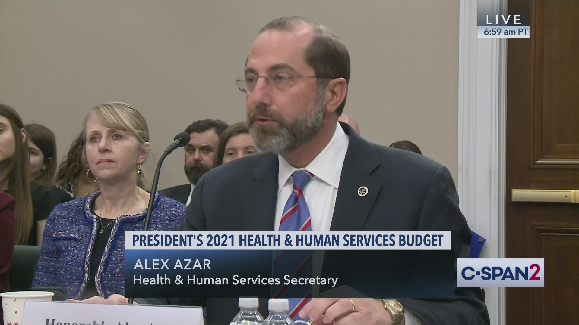 Health And Human Services Department Fiscal Year 2021 Budget Request C Span Org