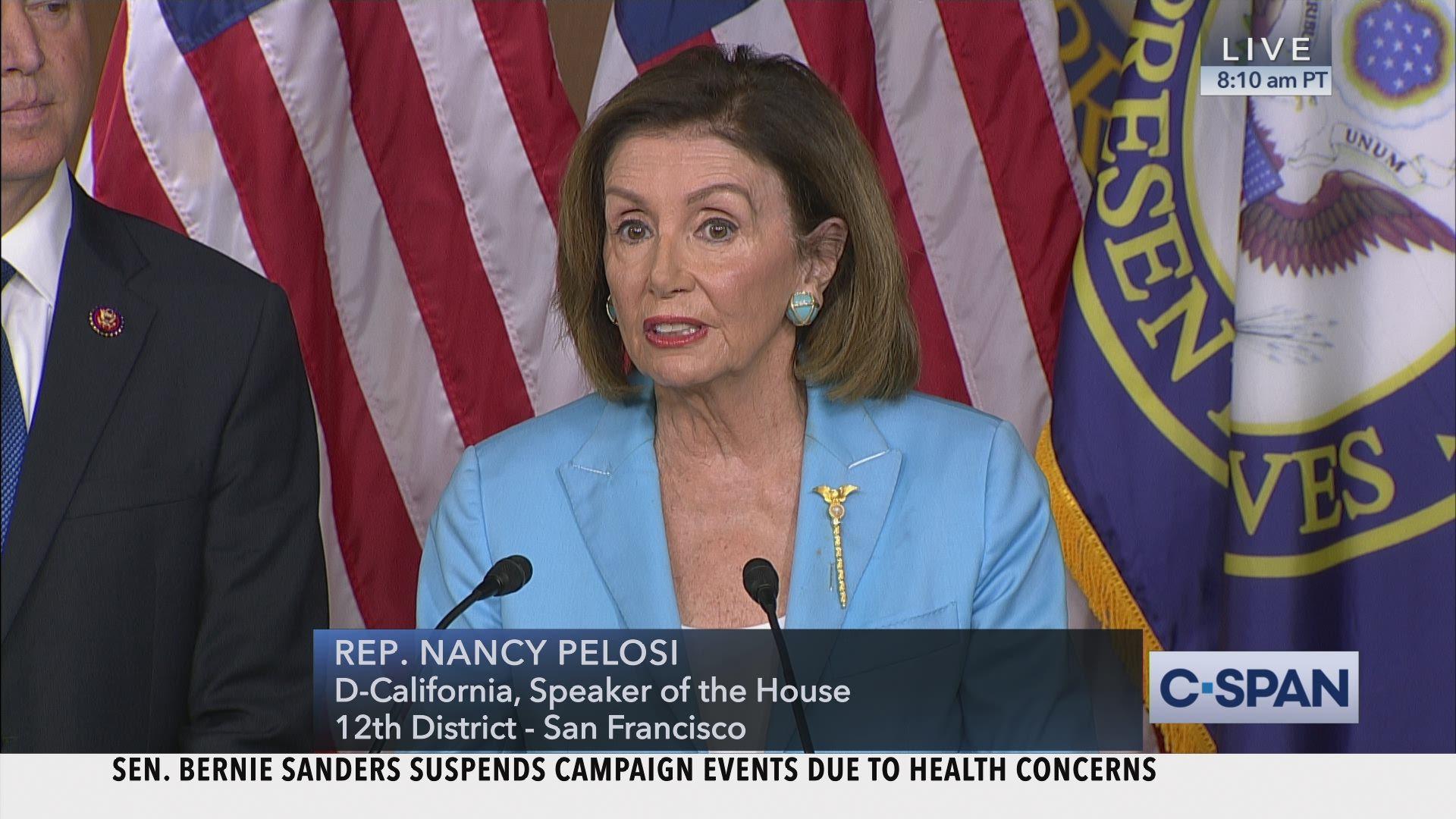 House Speaker Nancy Pelosi News Conference C Span Org