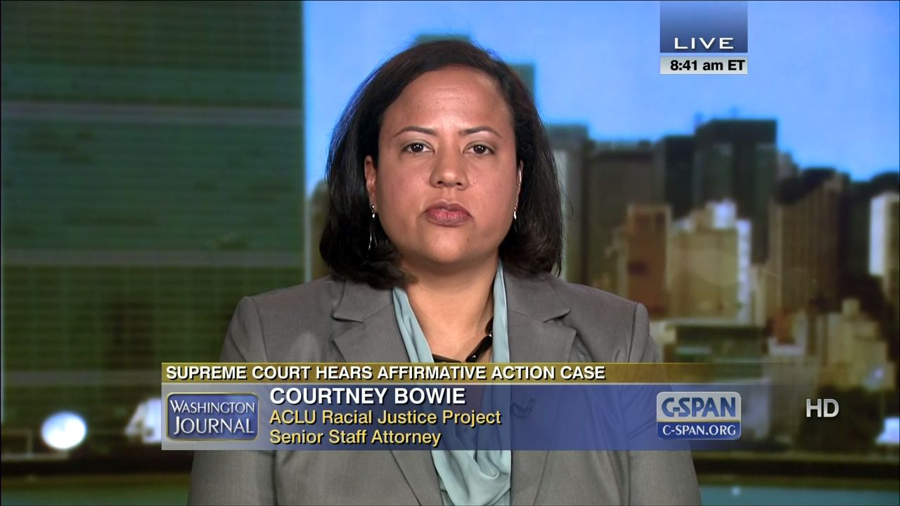 Courtney Bowie: A Week After 911, I Was Still Crying