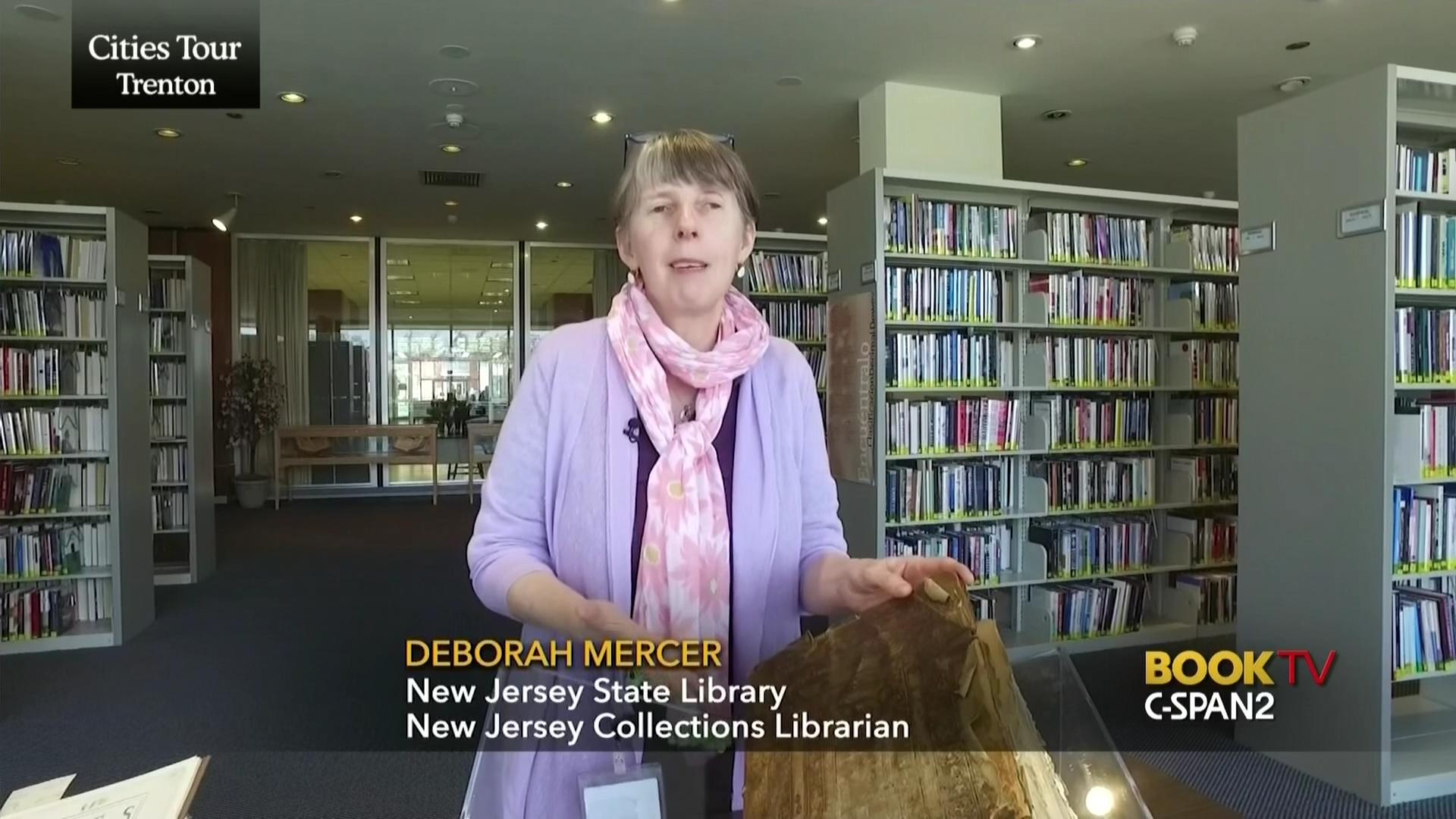 New Jersey State Library Rare Books