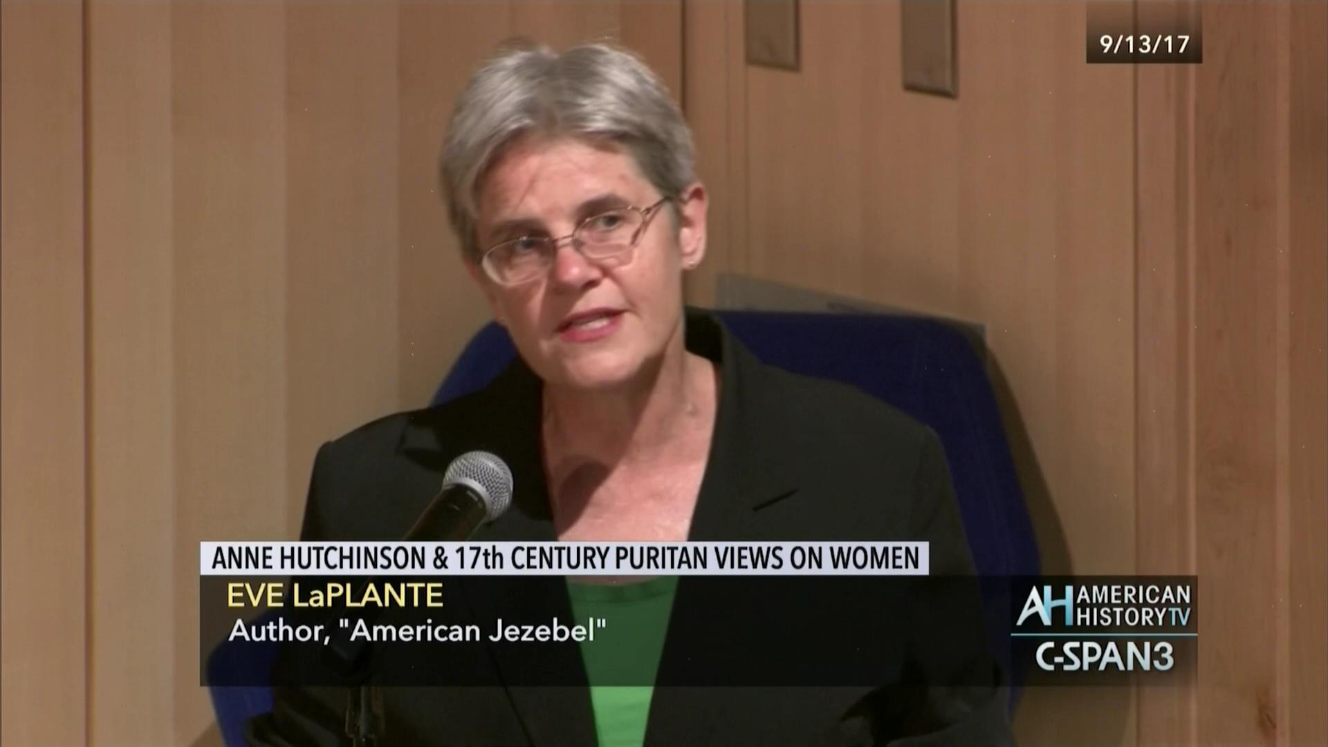 anne hutchinson th century puritan views women sep  anne hutchinson 17th century puritan views women sep 13 2017 video c span org