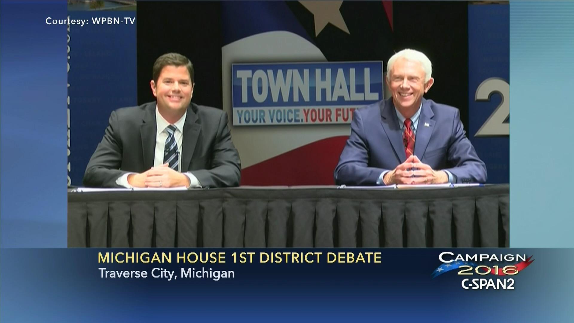 Michigan 1st Congressional District Debate
