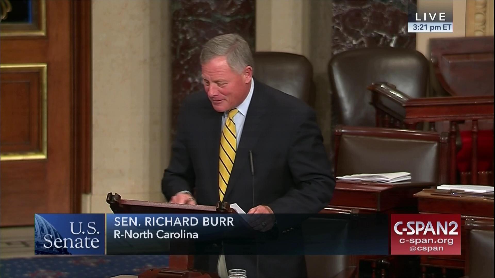 Sen  Richard Burr, LWCF Supporter