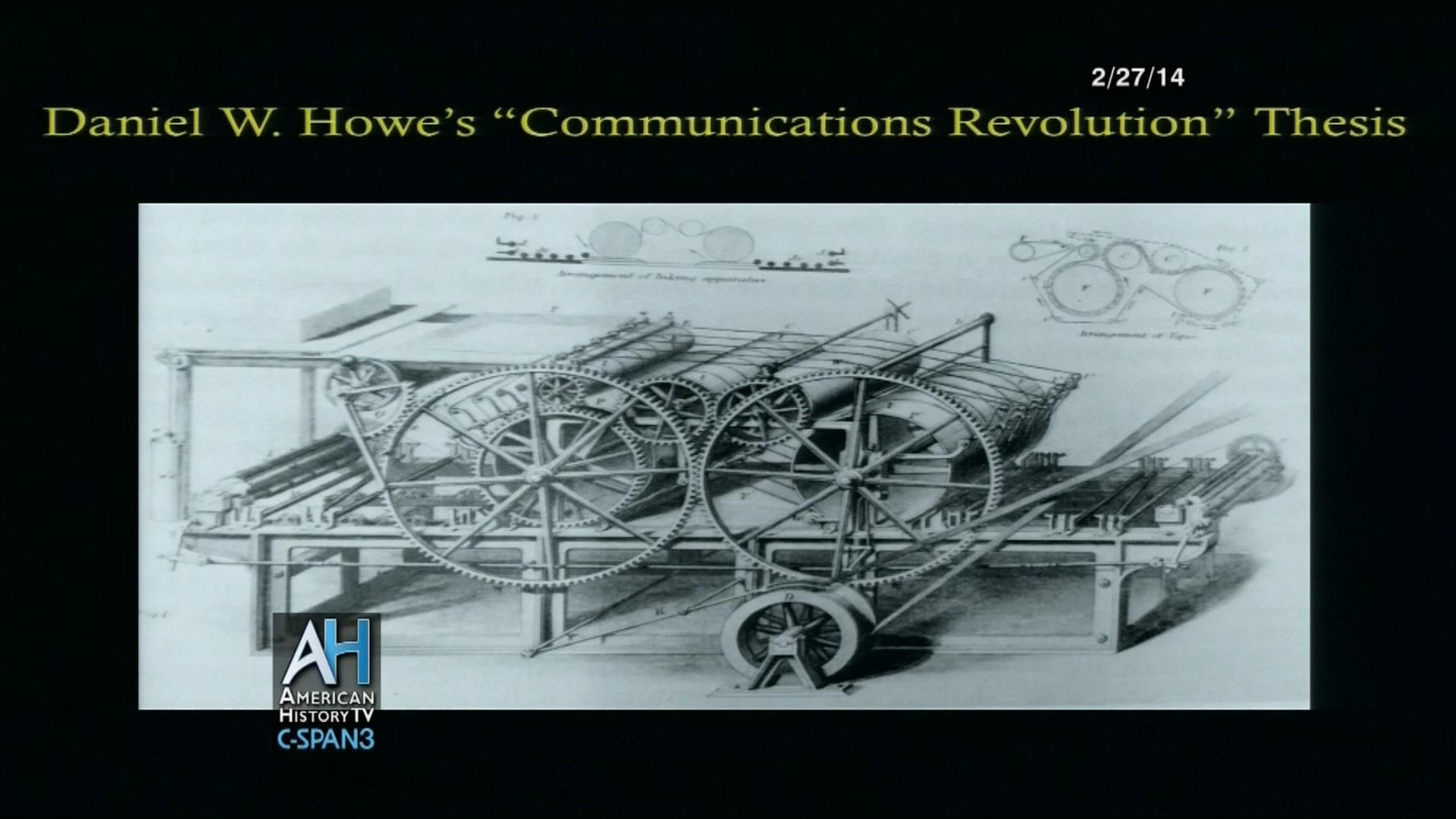 Communications Revolution | User Clip | C-SPAN.org