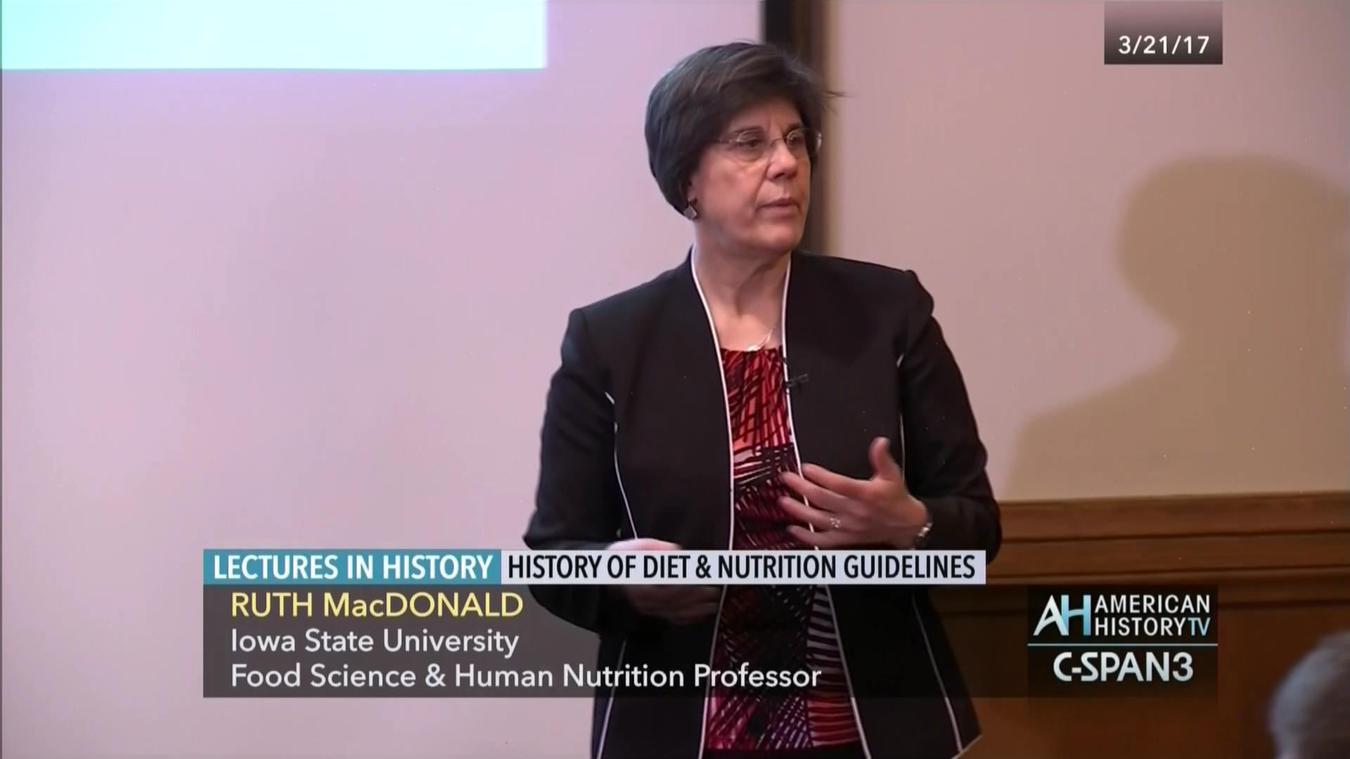 History Diet Nutrition Guidelines Mar 21 2017 Video C Span Org
