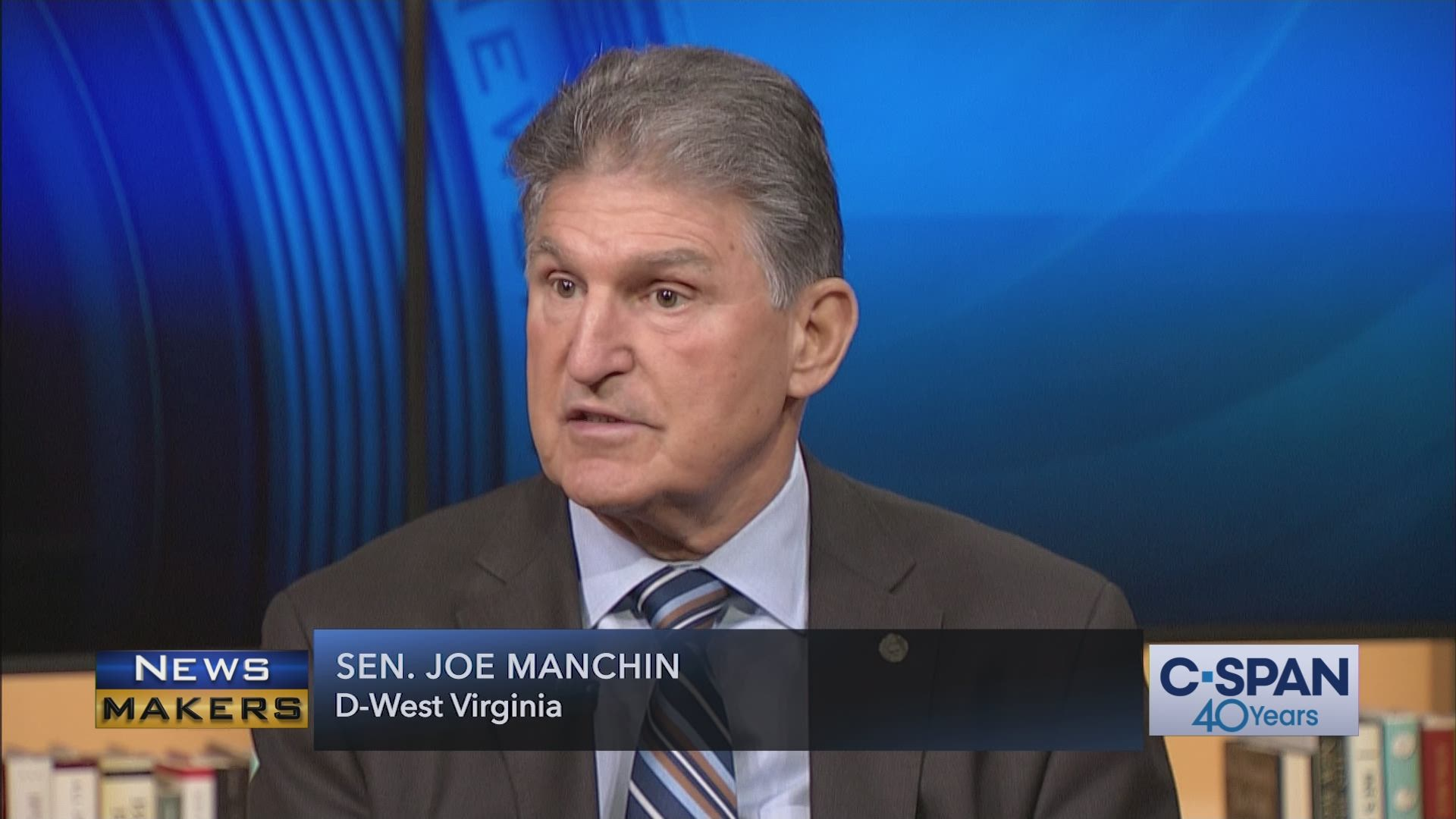 Newsmakers with Senator Joe Manchin | C-SPAN.org