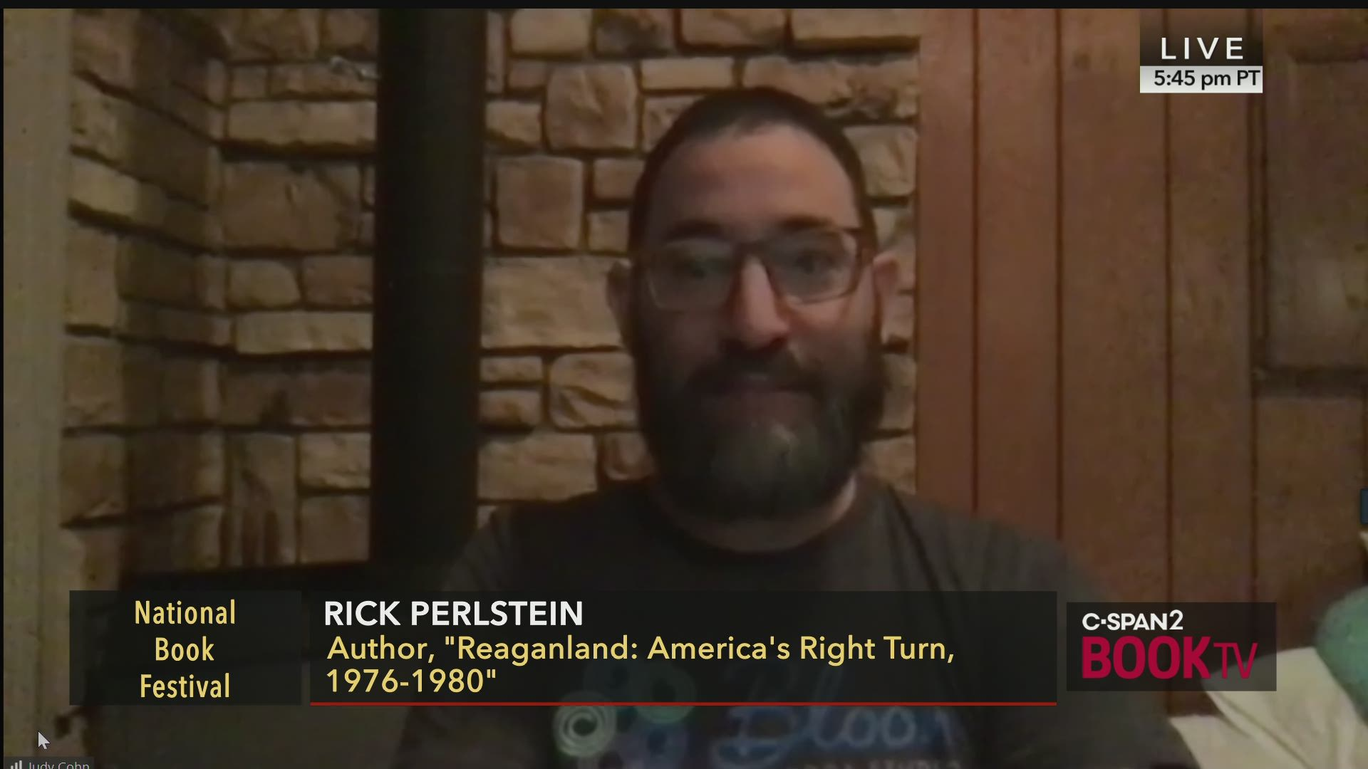 Call-In with Rick Perlstein | C-SPAN.org