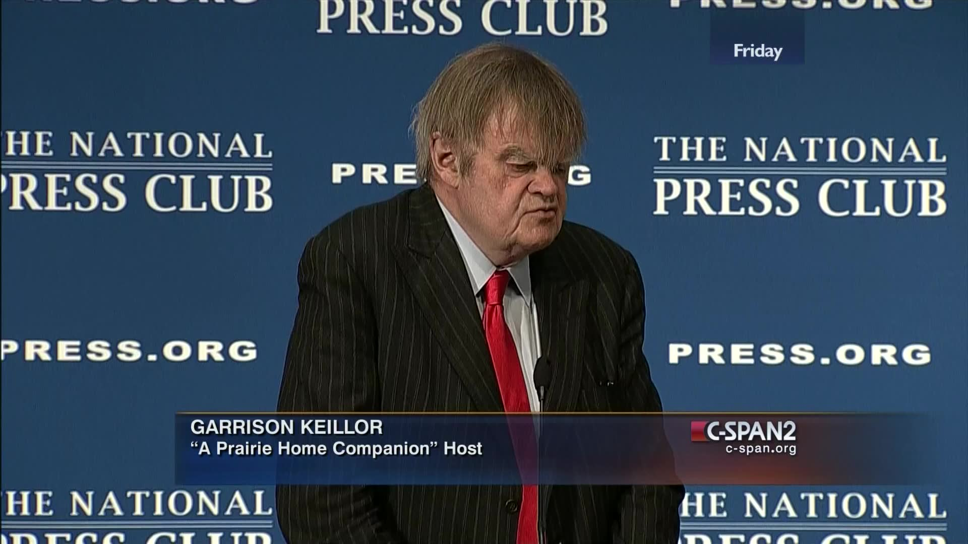 Garrison Keillor Discusses Somali Immigration In Minnesota C Span Org