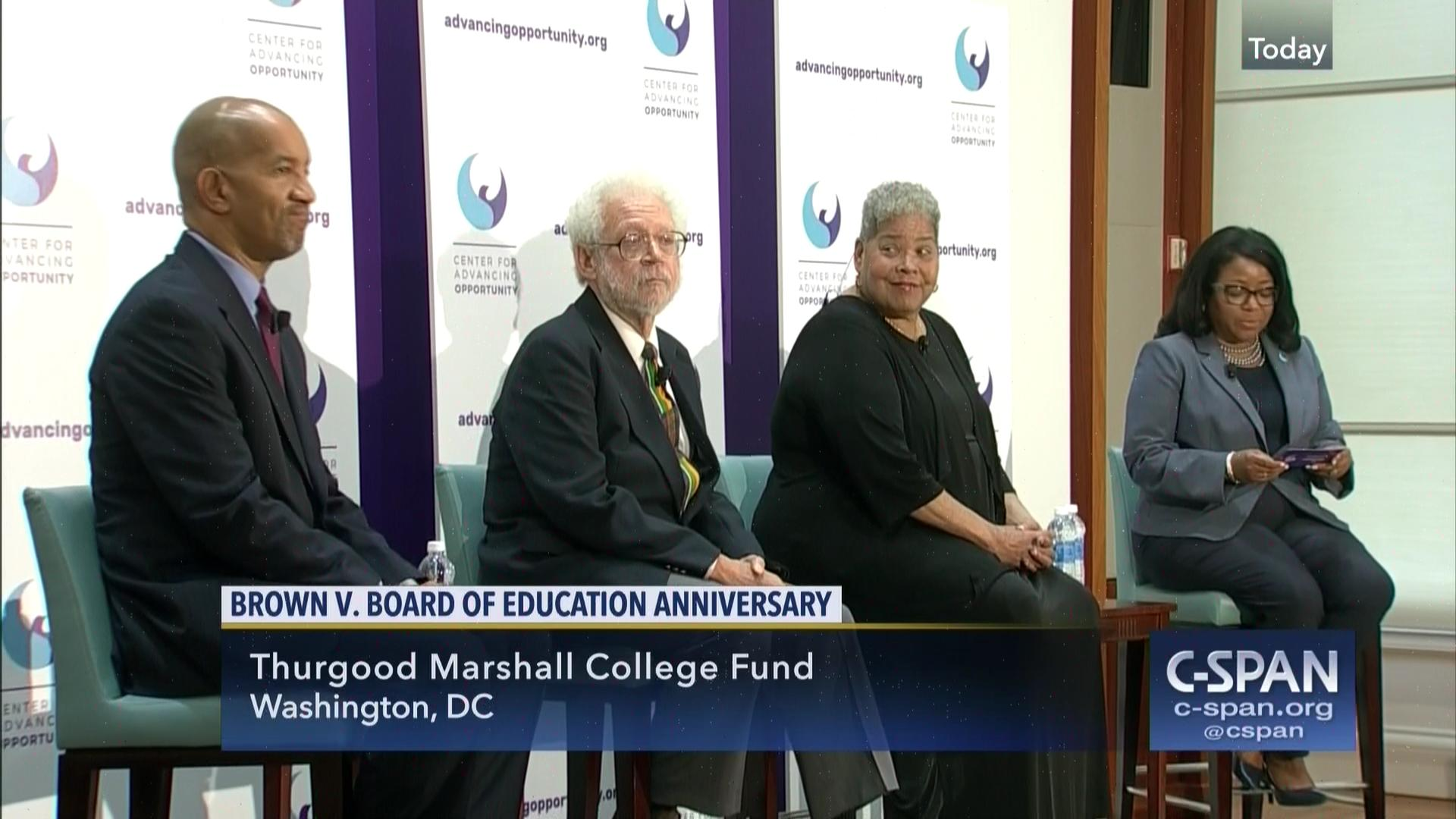 brown v the board of education Npr marks the 50th anniversary of the landmark us supreme court ruling ending school segregation with a series of reports on the legacy of 'brown v board of education' and the future of public education in america.