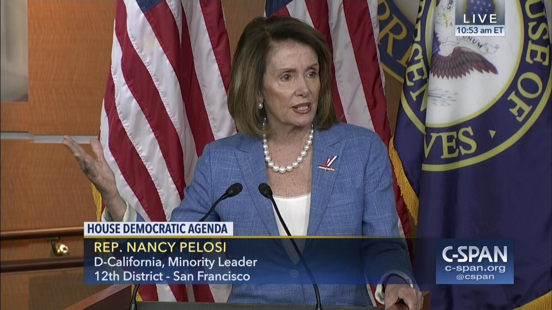 minority leader pelosi confident support caucus | c-span