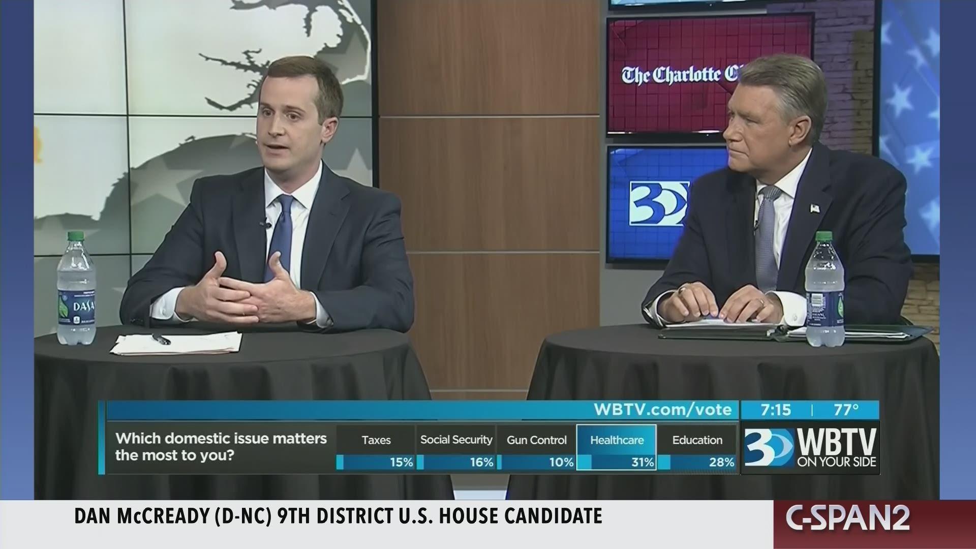 North Carolina 9th Congressional District Debate
