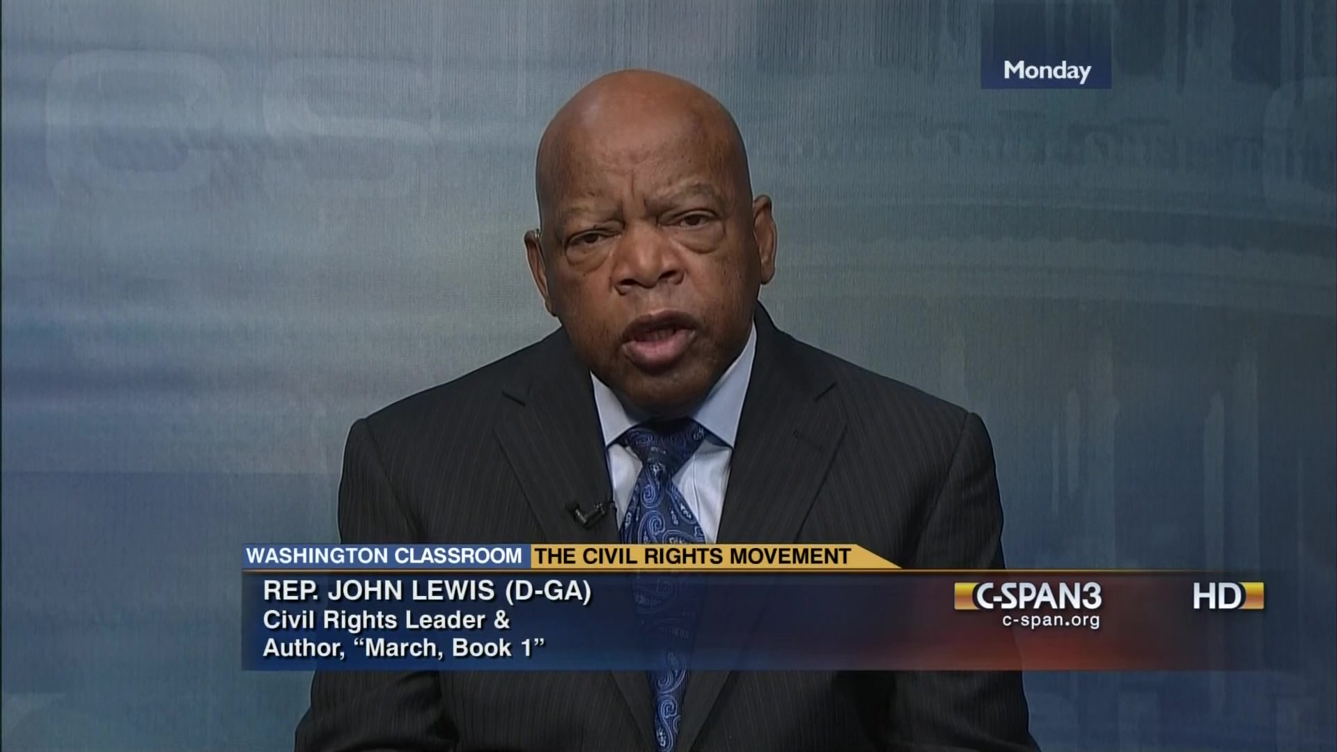 Rep John Lewis Reflects Civil Rights Movement Dec 2 2013 Video